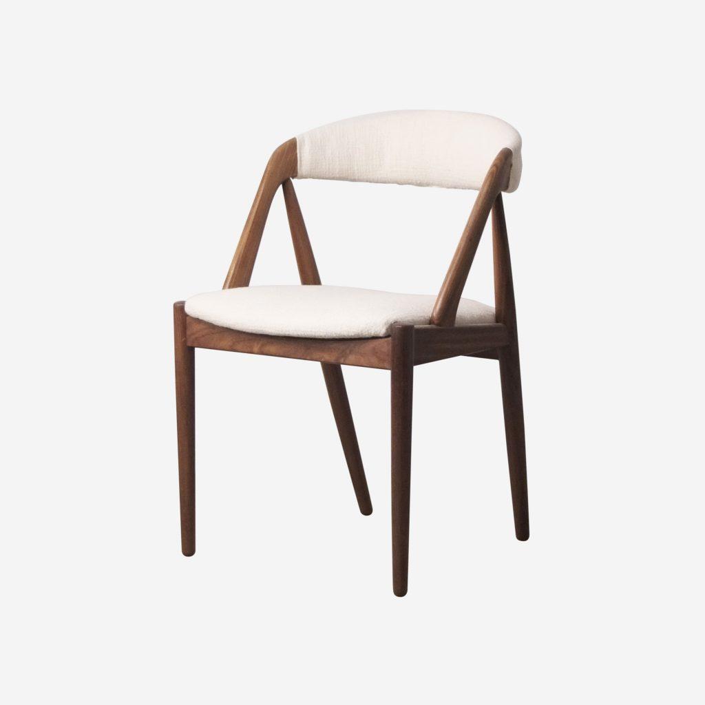 silla tapizada lino de calidad fabricada en dinamarca