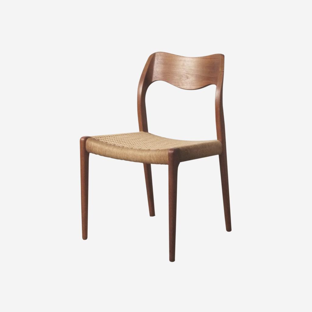 silla moller de madera