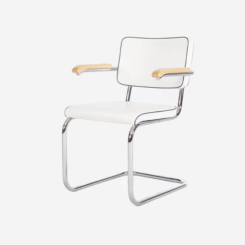 silla calidad piel cesca bauhaus piel comoda diseño