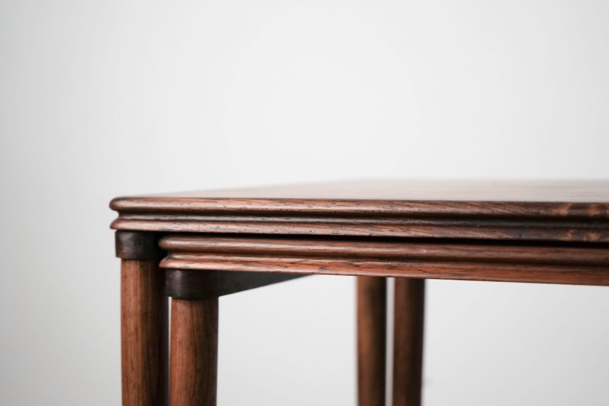 mesa diseño teca vintage retro palosanto comoda