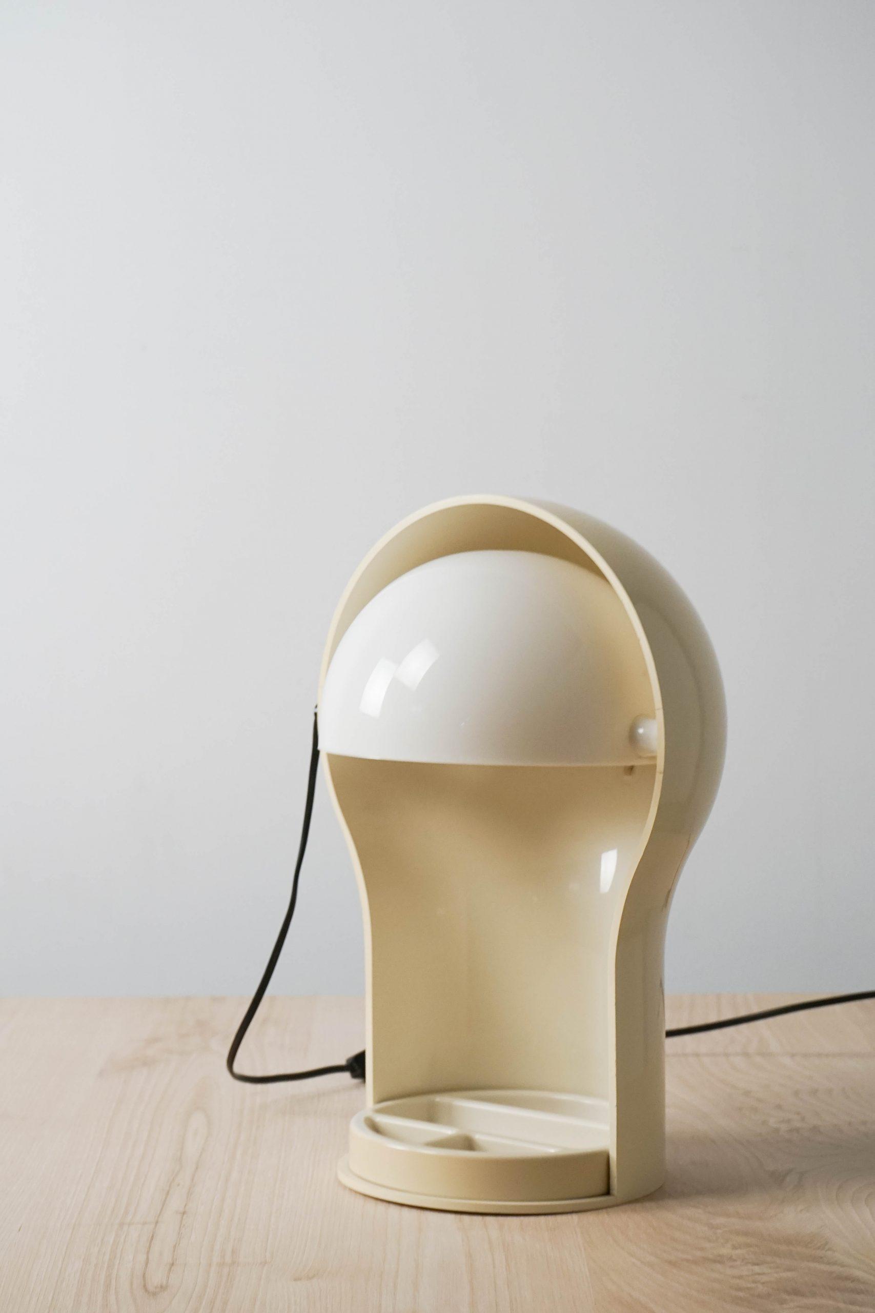 lampara eclipse de diseño vintage años 60