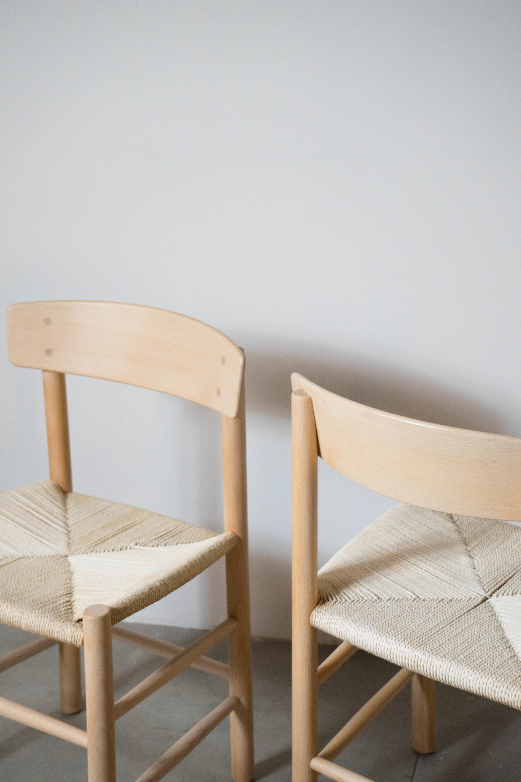 silla j39 de madera