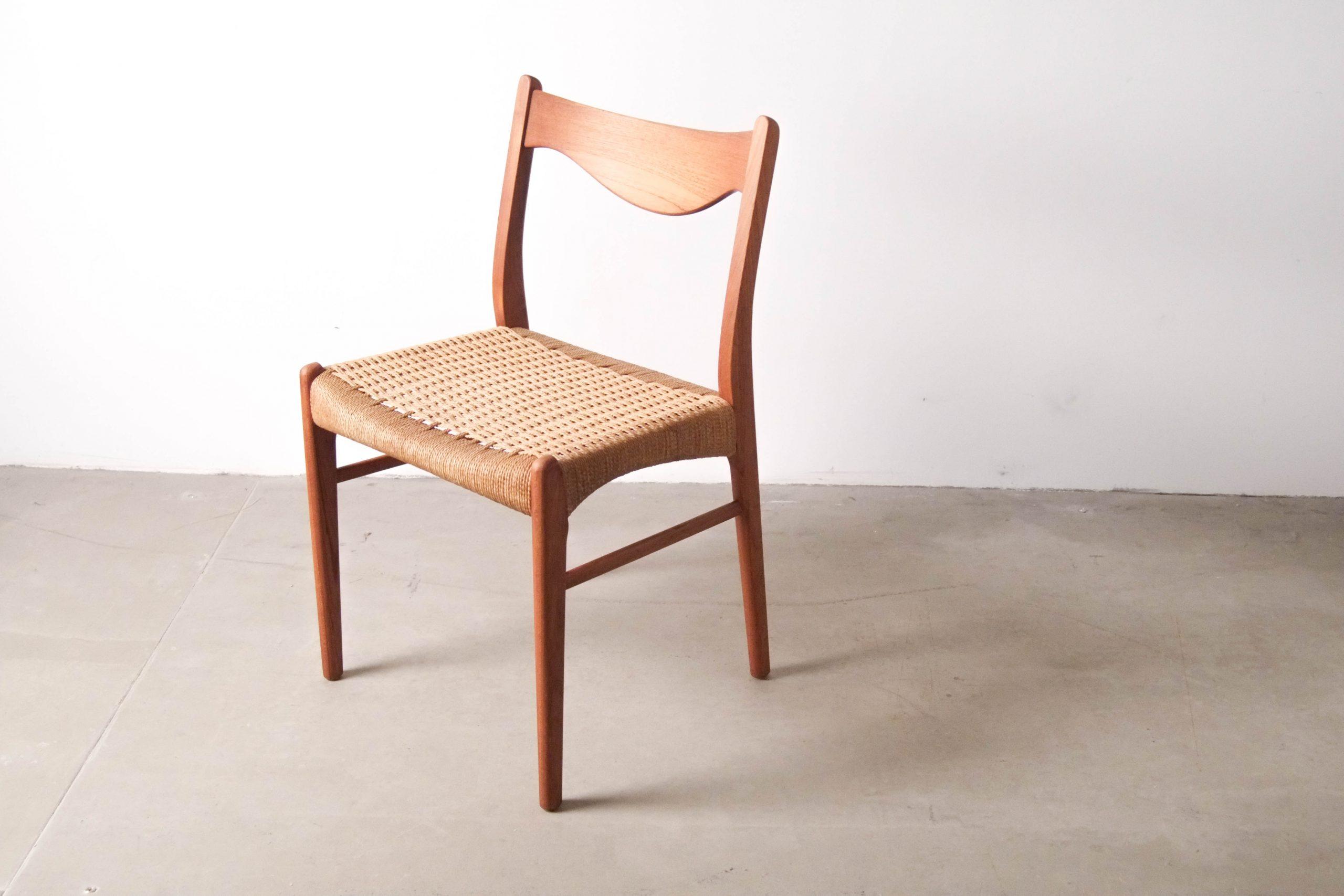 silla nordica escandinava dinamarca madera maciza