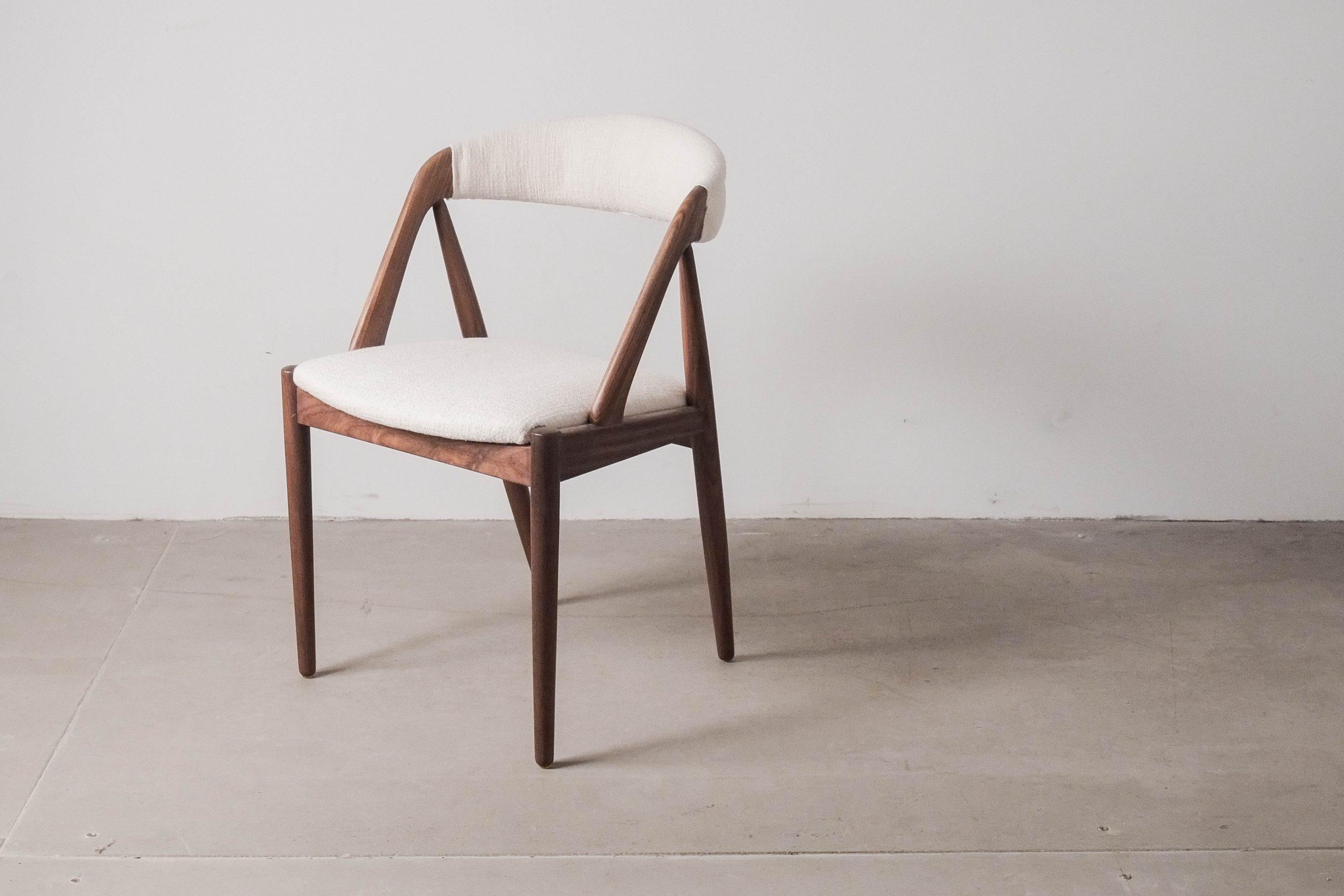silla de palosanto kai kristiansen silla de comedor comoda confortable de diseño palosanto palisandro