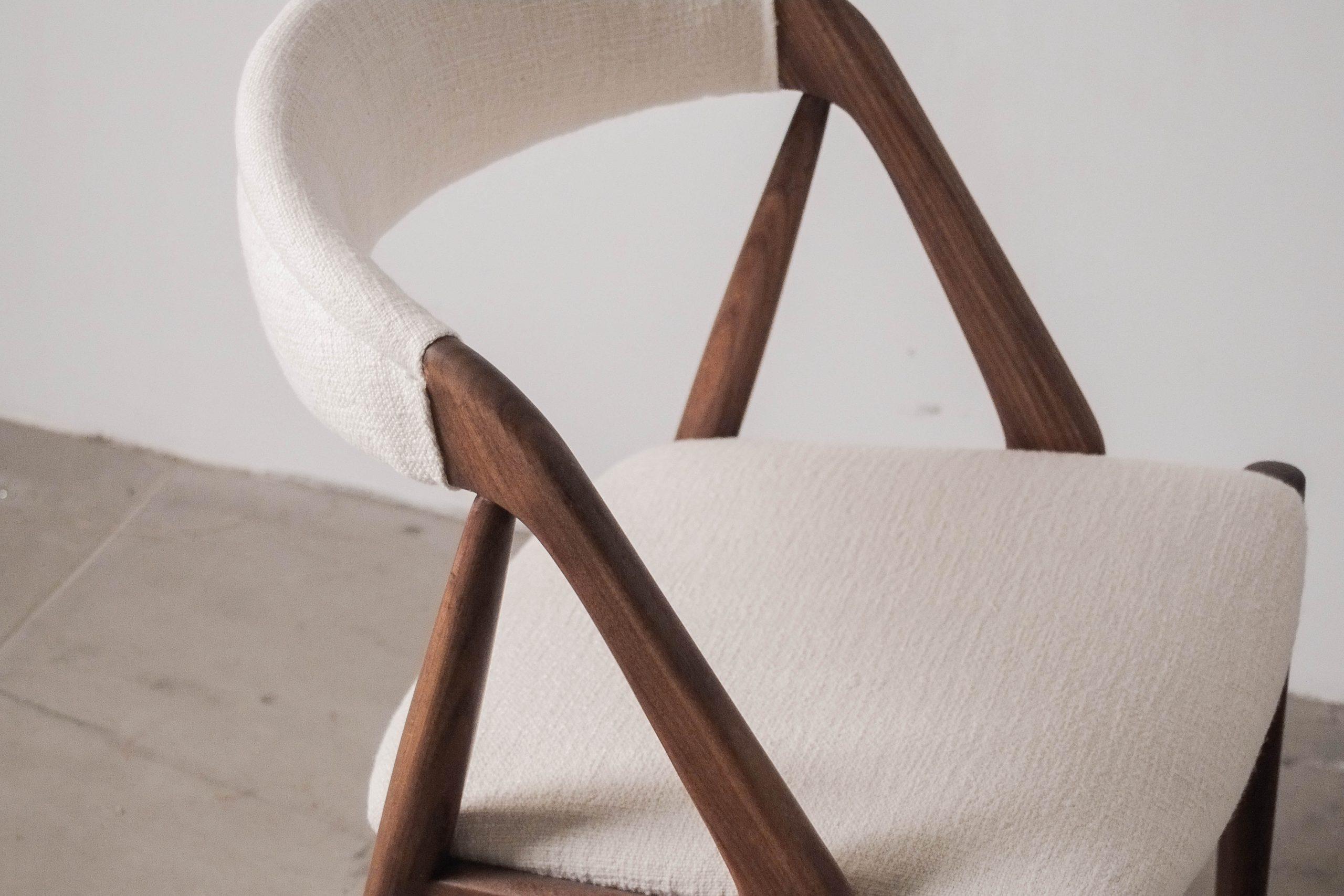 silla de diseño vintage kai kristiansen calidad madera maciza