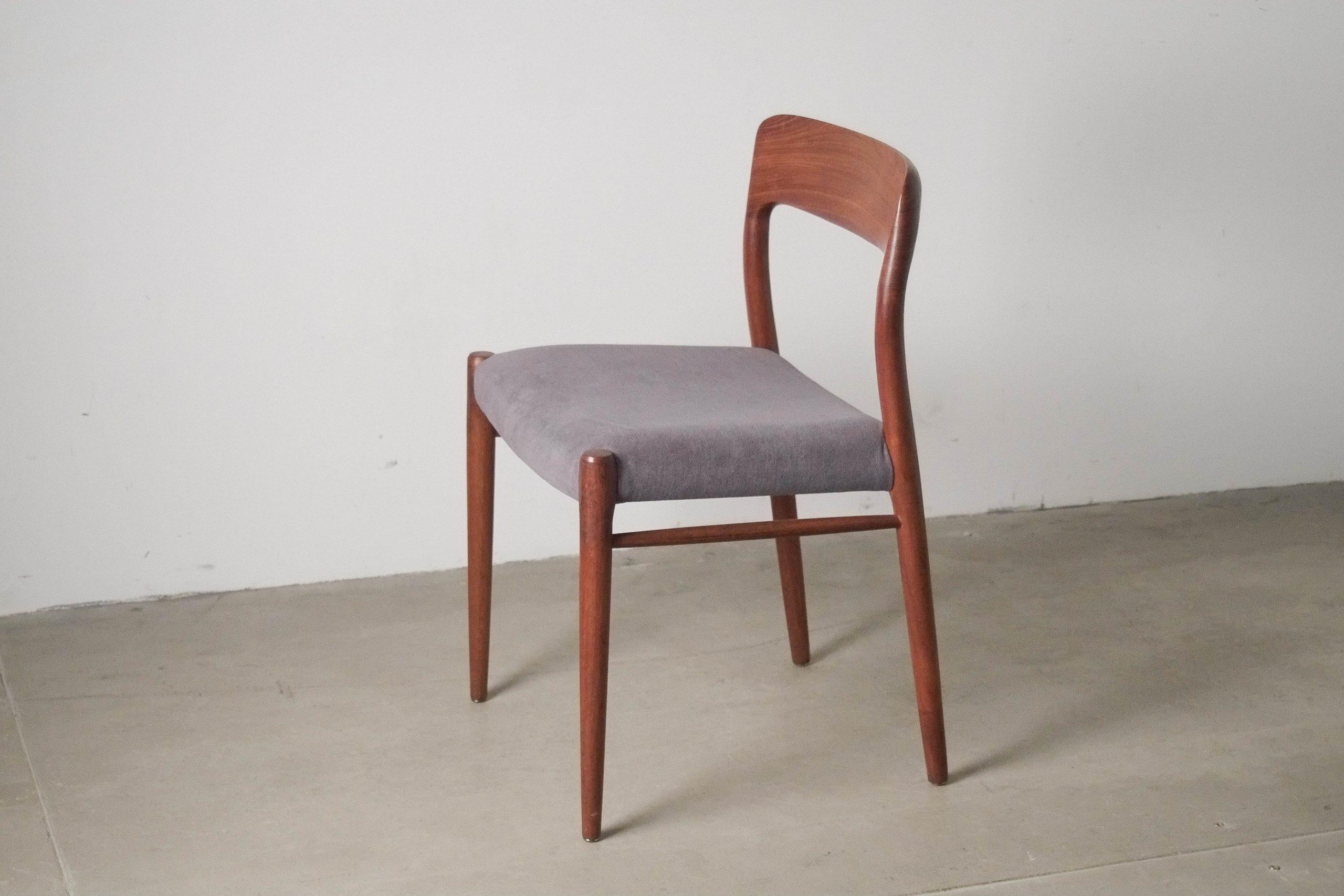 silla comoda de comedor elegante diseño calidad mid century dinamarca