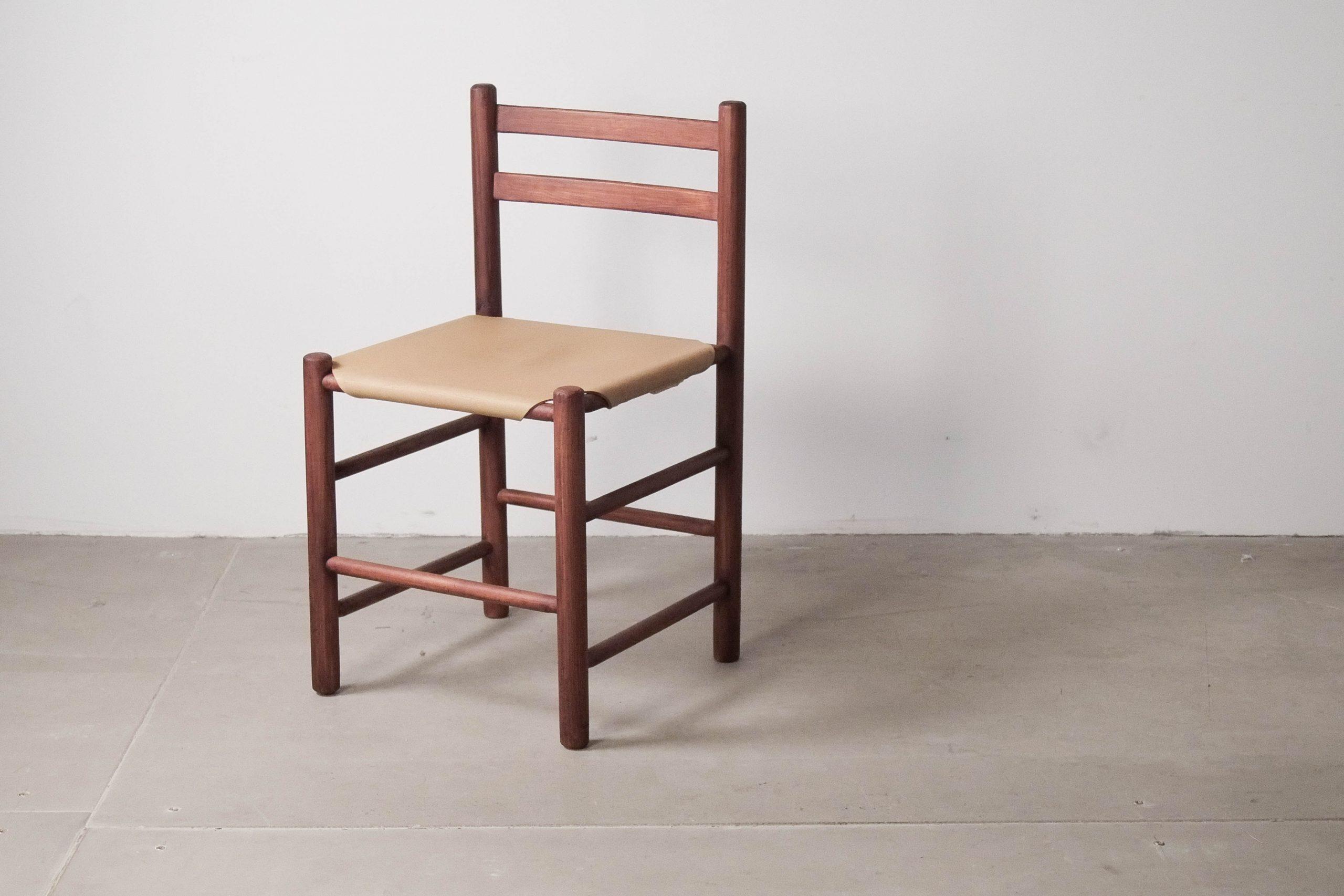 silla de comedor ate von holandesa rustica piel