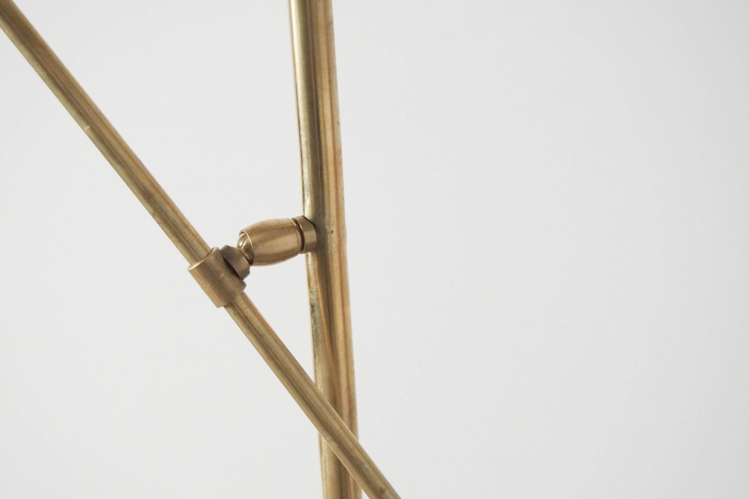 detalles de calidad lampara de laton hecha en italia