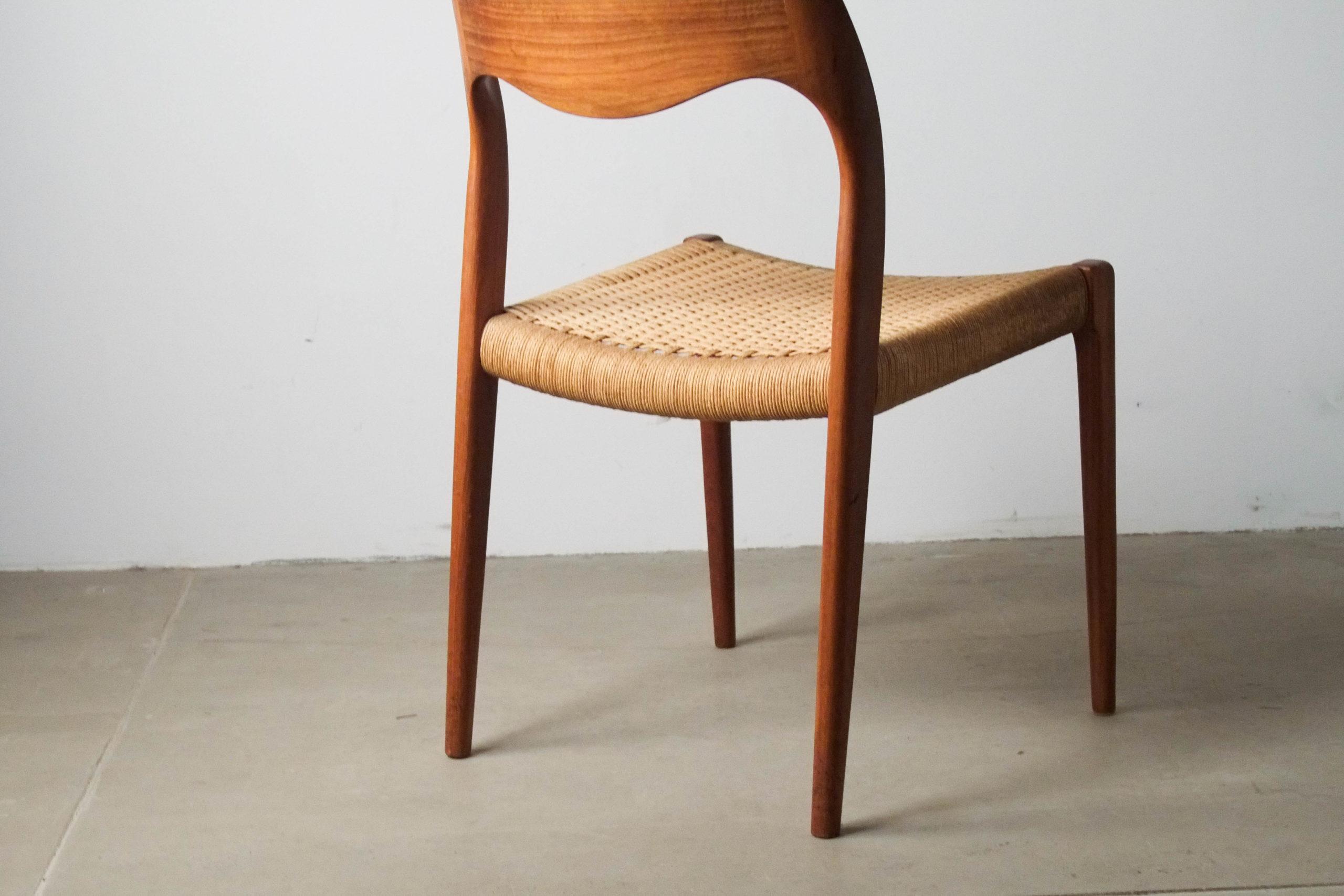 silla de comedor danesa