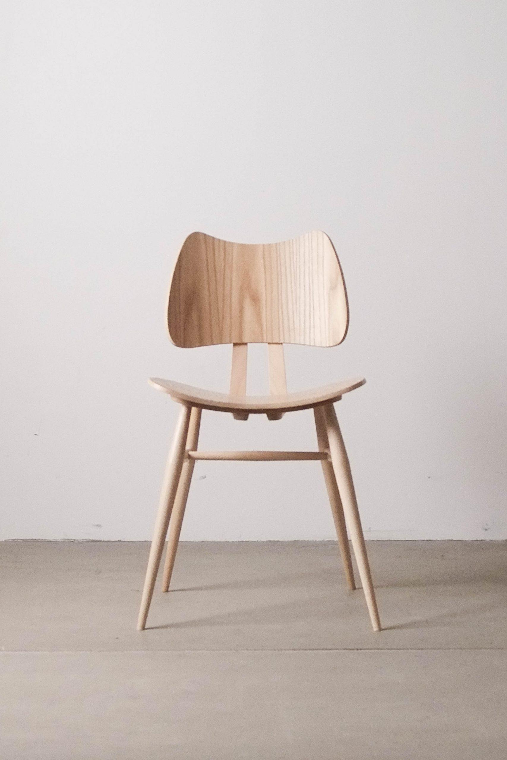 silla de comedor ercol hecha a mano reino unido mid century diseño ercolani