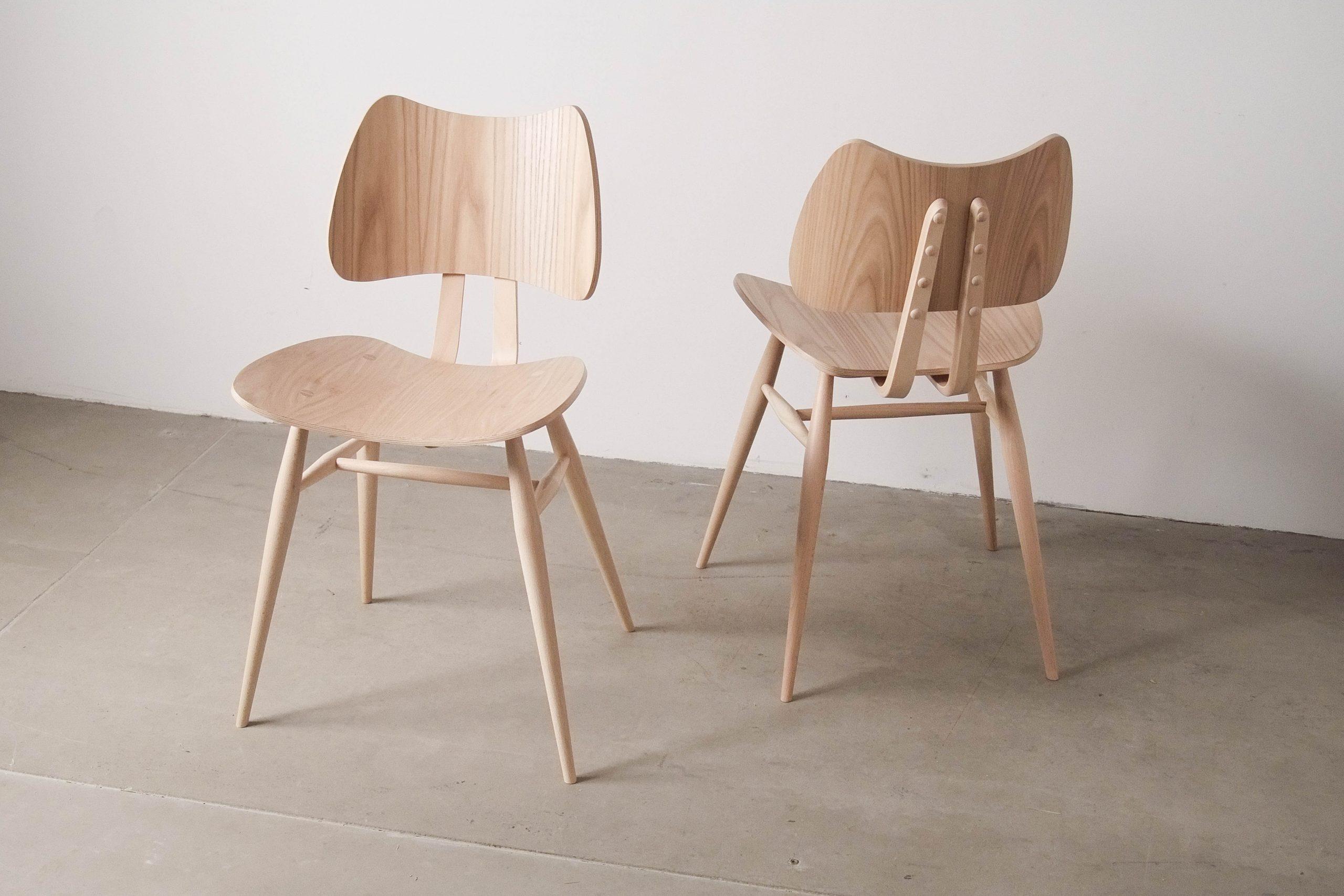 silla natural de madera comoda de comedor maciza confortable trabajo cocina