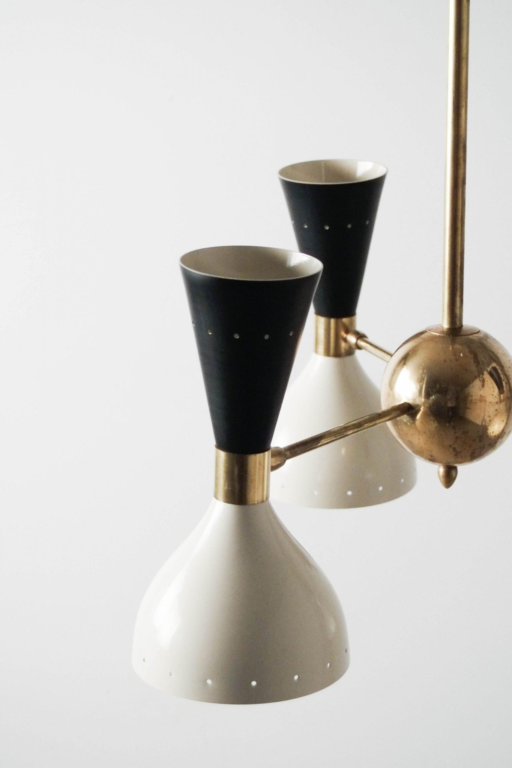lampara de techo bola metal diseño elegante clasica