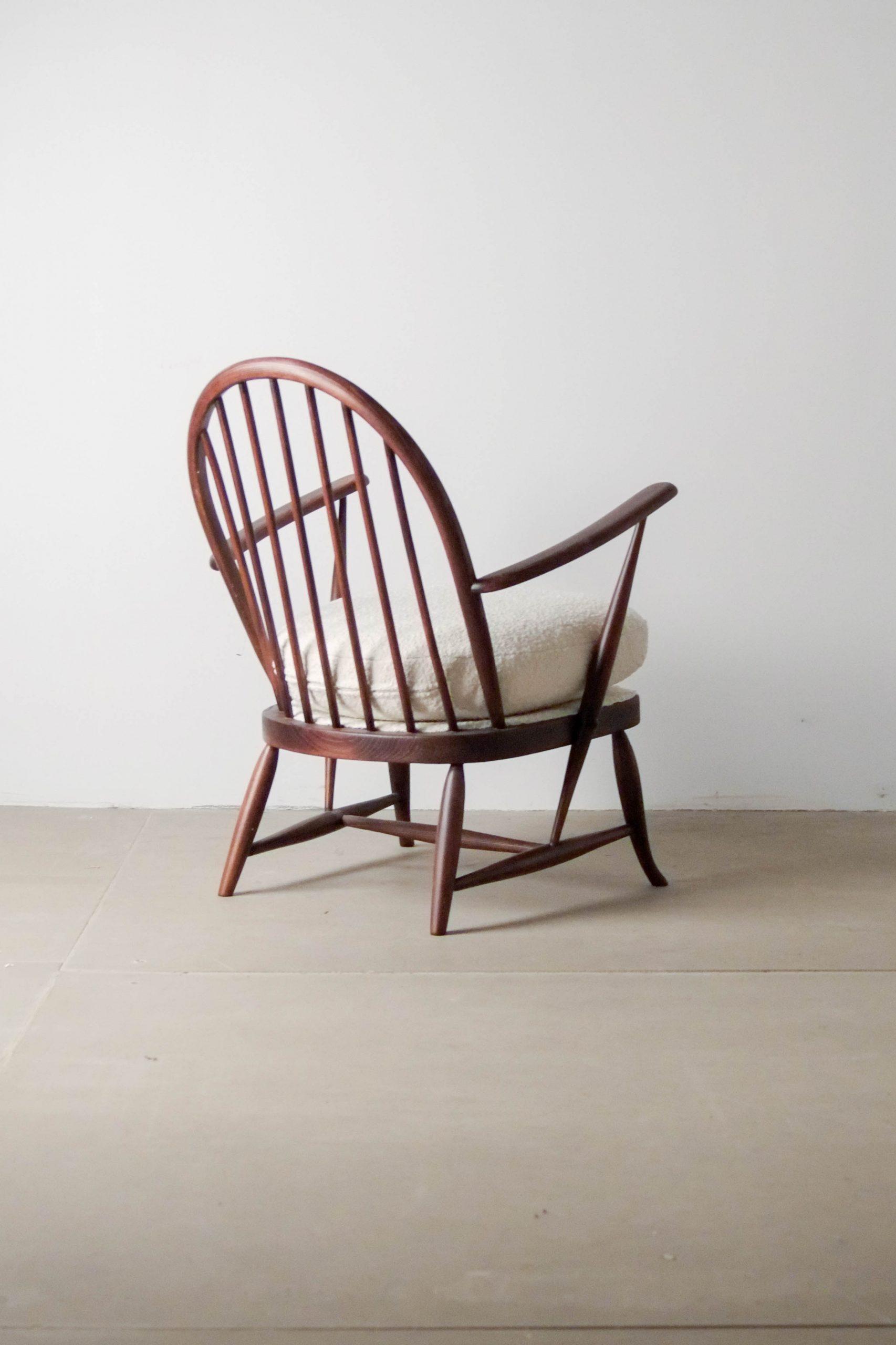 silla butaca ercol butaca de diseño de calidad hecha en reino unido