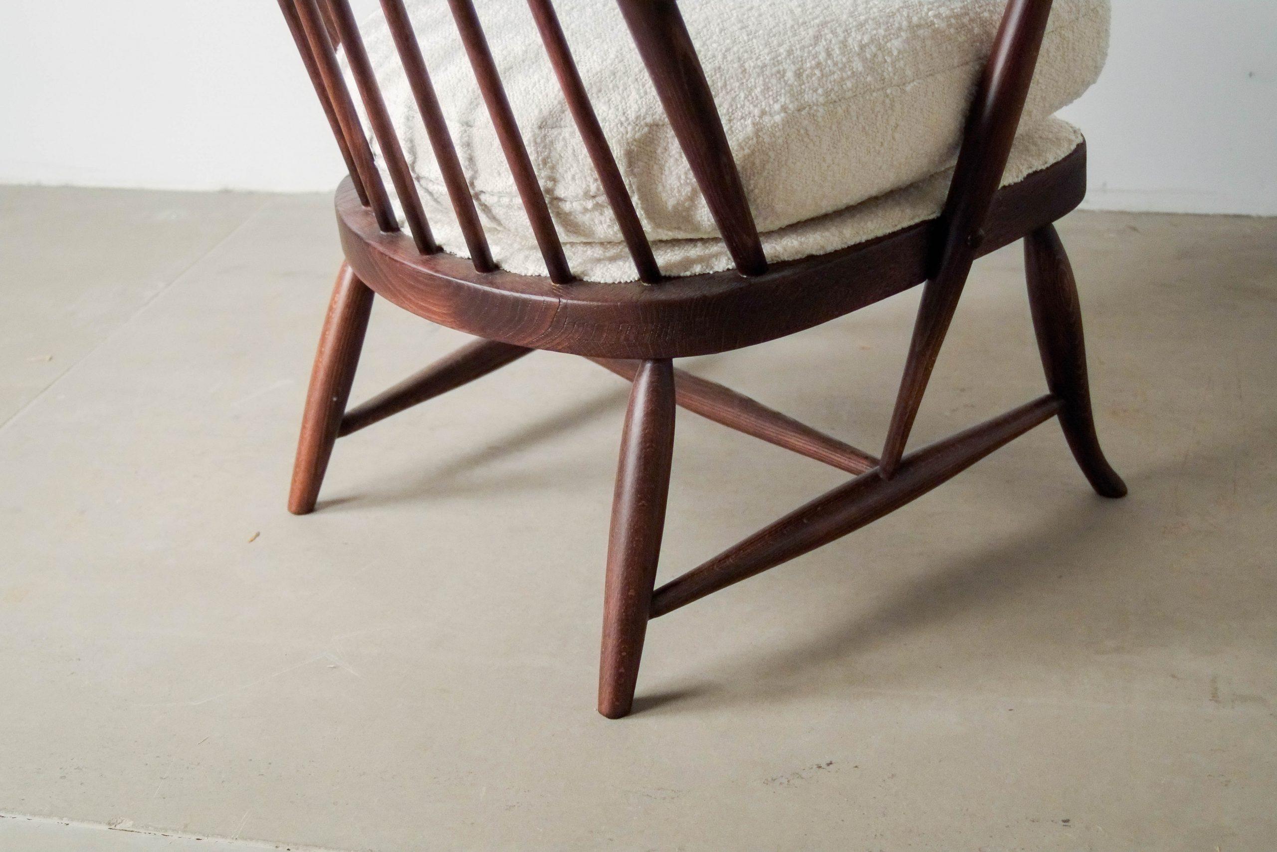 butaca comoda de diseño de calidad hecha a mano de madera maciza