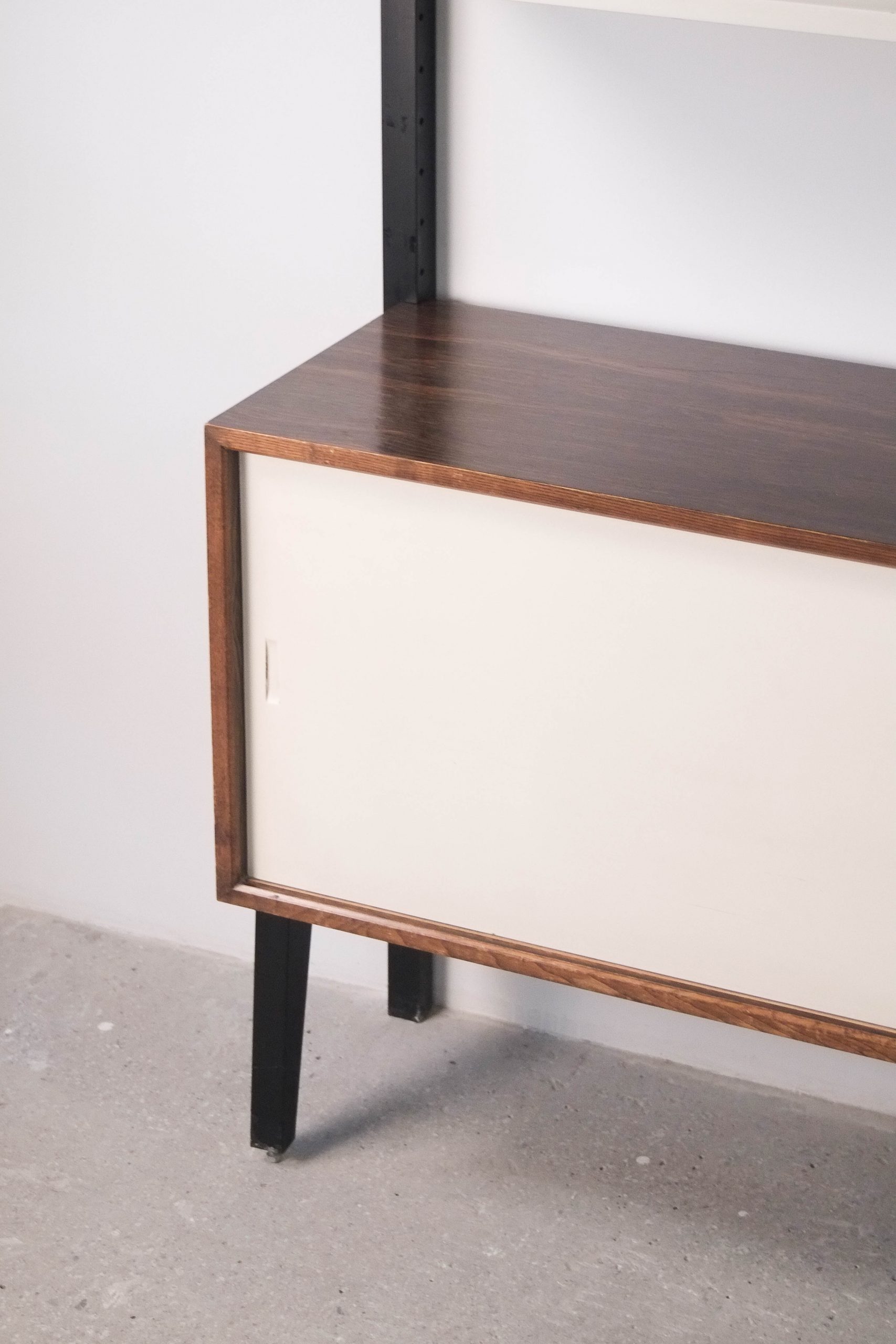 estantería modular martin visser de salon aparador almacenaje vintage palosanto palisandro