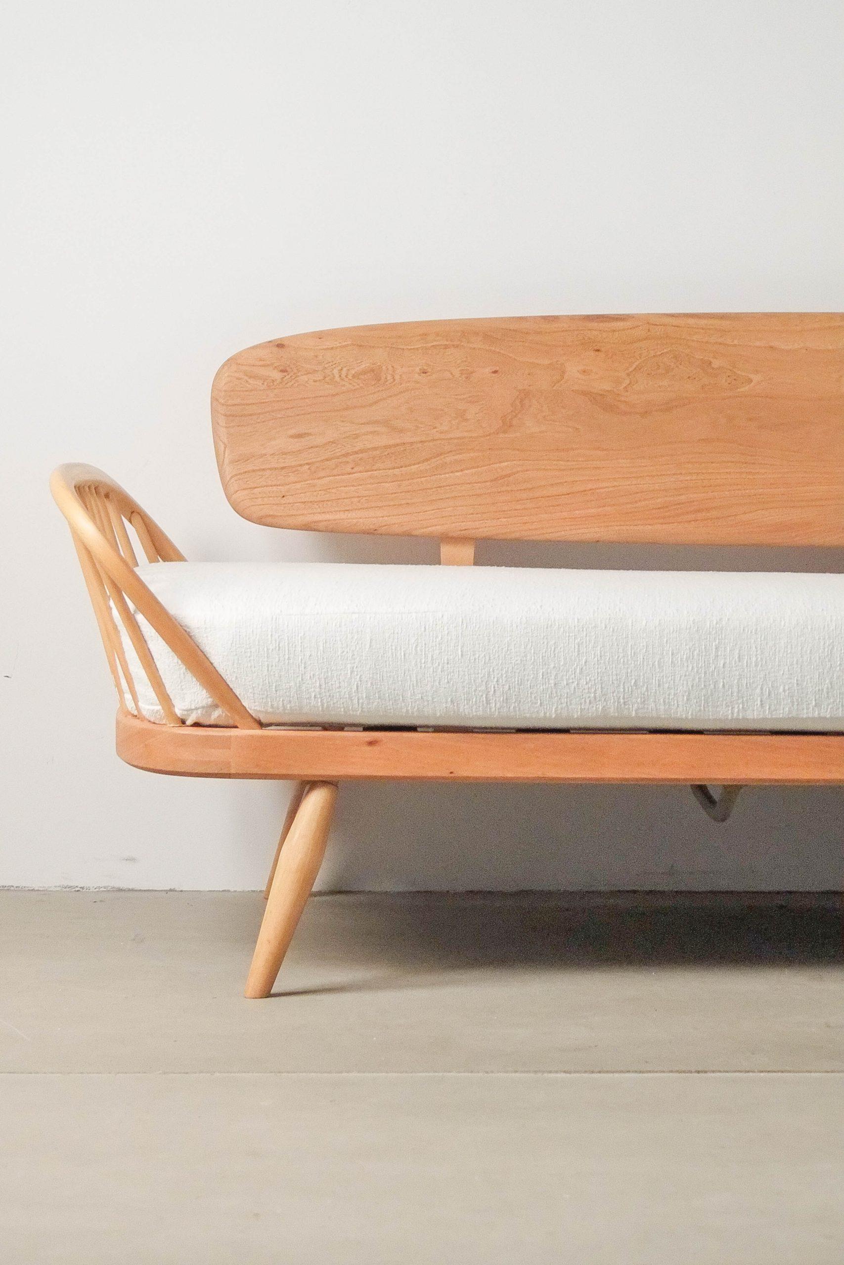 sofa ercol canape de diseño madera de olmo