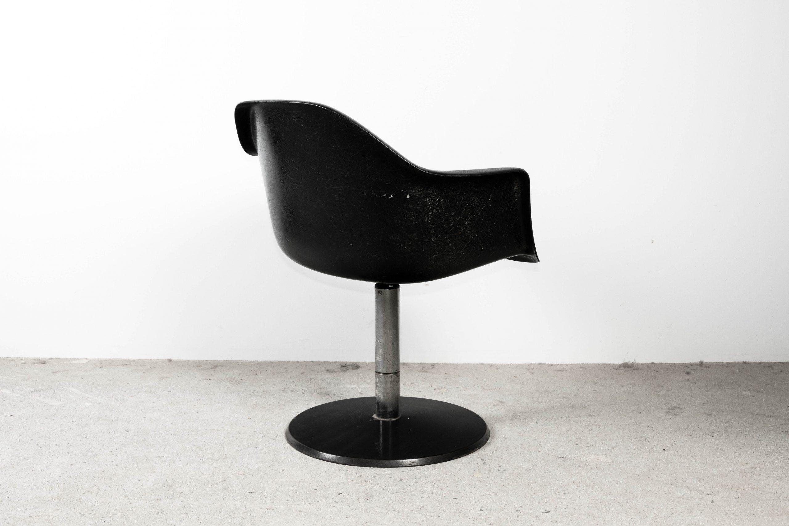 silla de oficina de trabajo eames de diseño mid century california