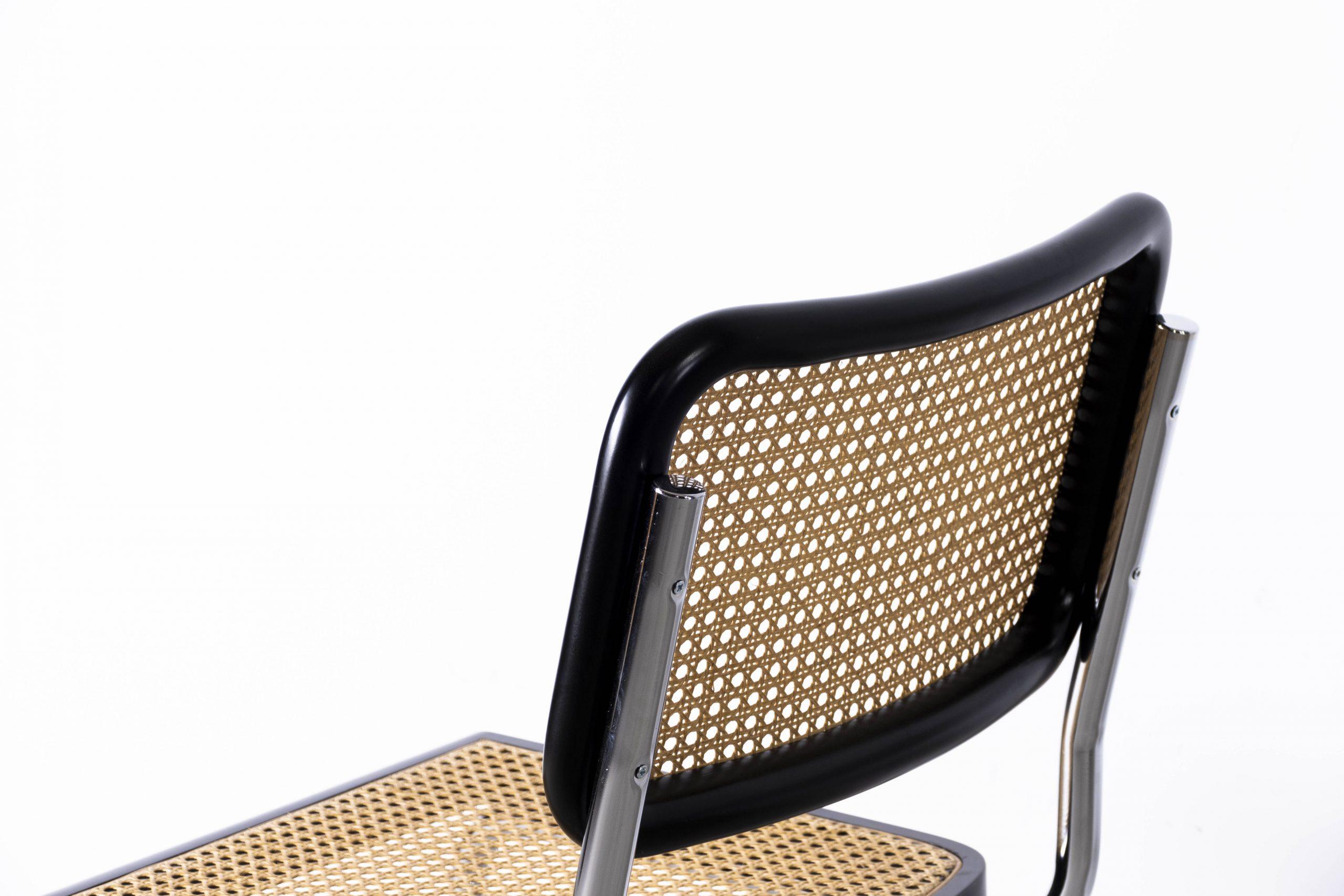 silla bauhaus de caña cesca mimbre diseño