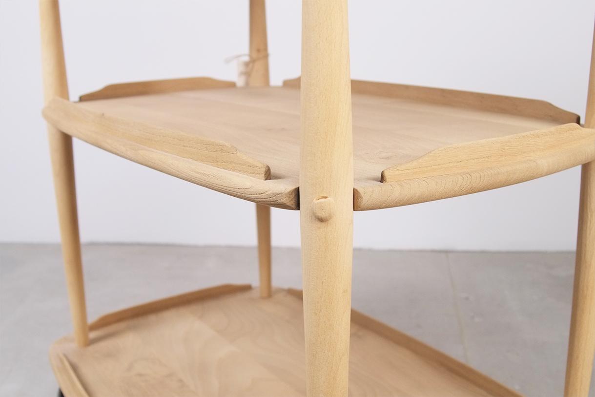 calidad artesania inglesa uk carro madera ercol bar