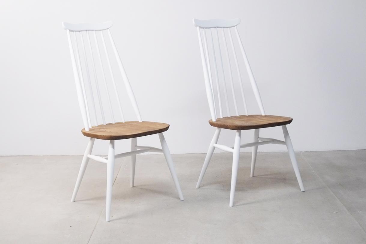 sillas de comedor comodas de diseños barrotes de madera reino unido uk ercol