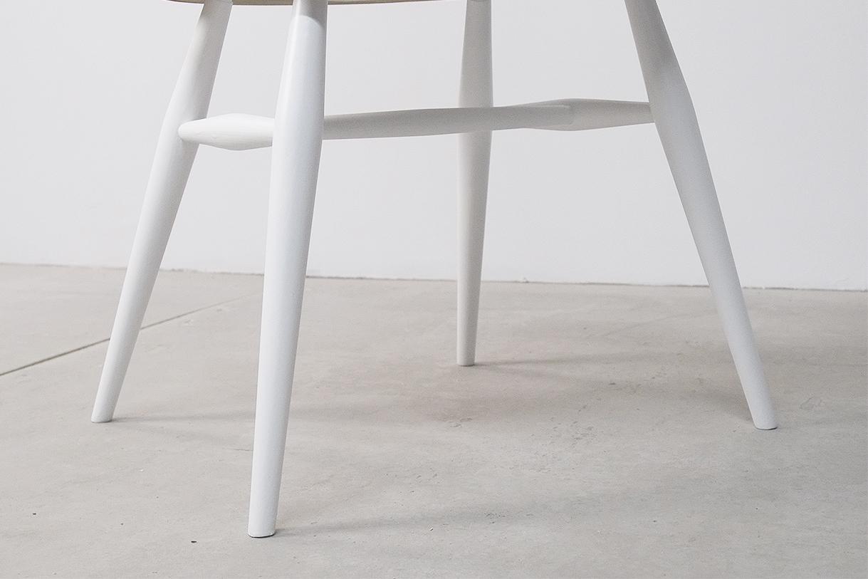 silla mid century diseño ingles reino unido calidad blanco