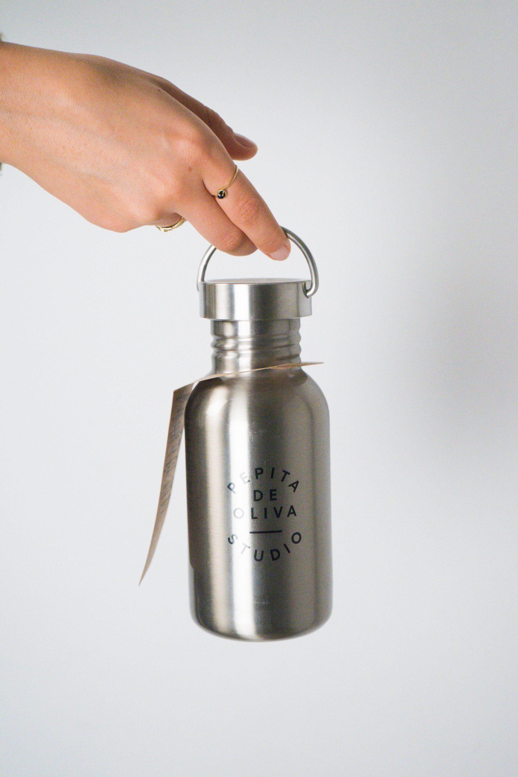 botella botellin cantimplora laken de diseño fabricada a mano en españa