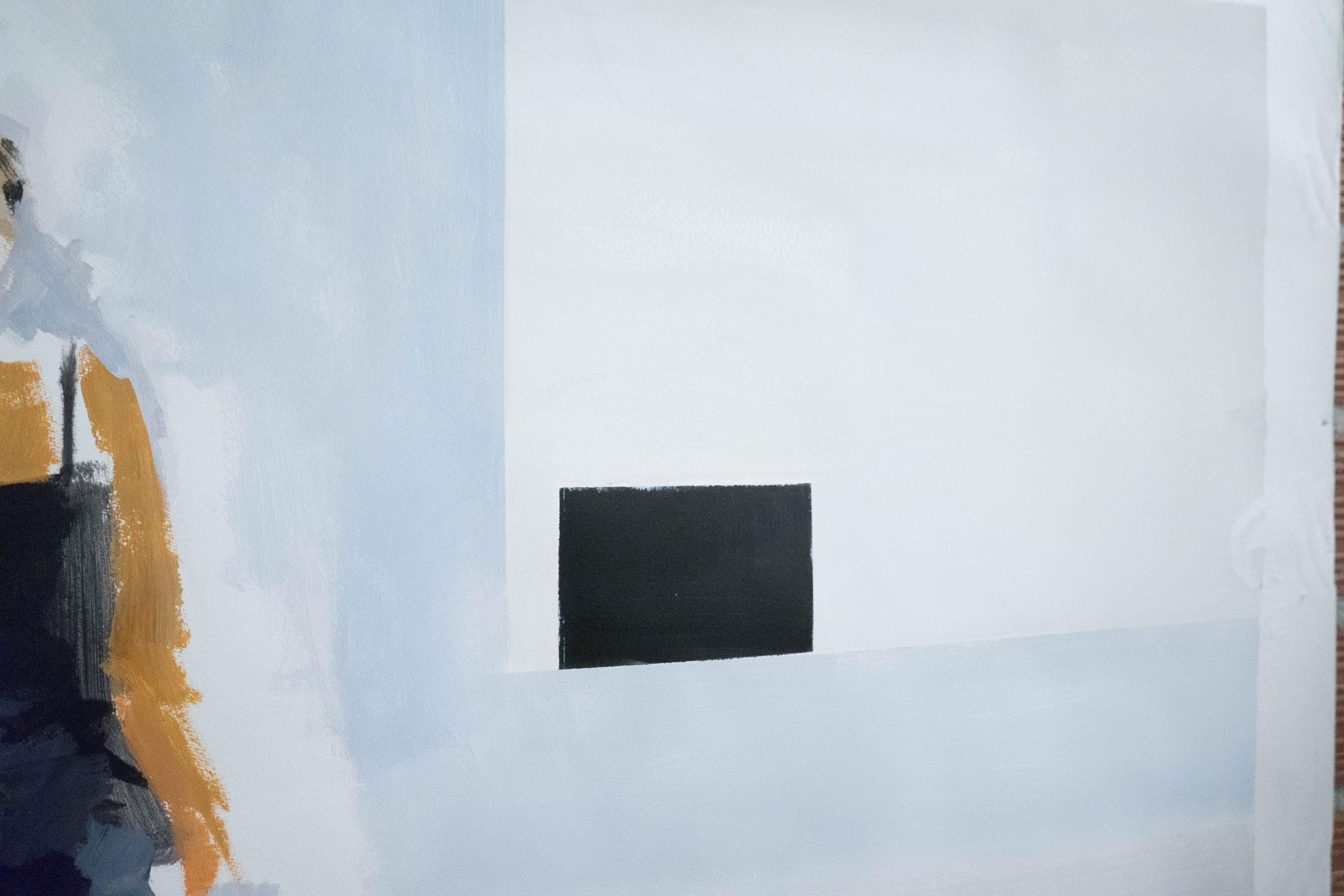 ventana acuarela color blanco lamina