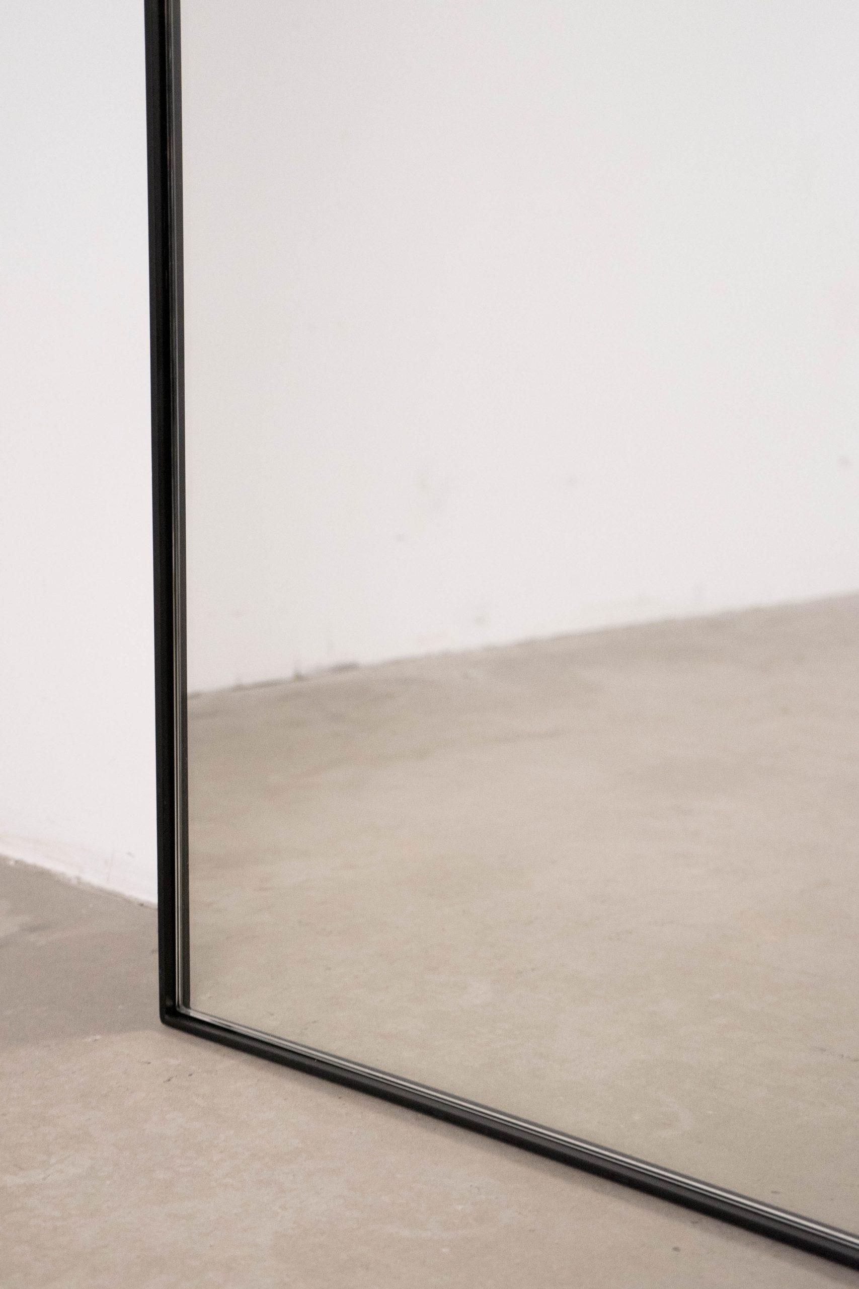 espejo a medida pepita marco de metal espejo redondeado