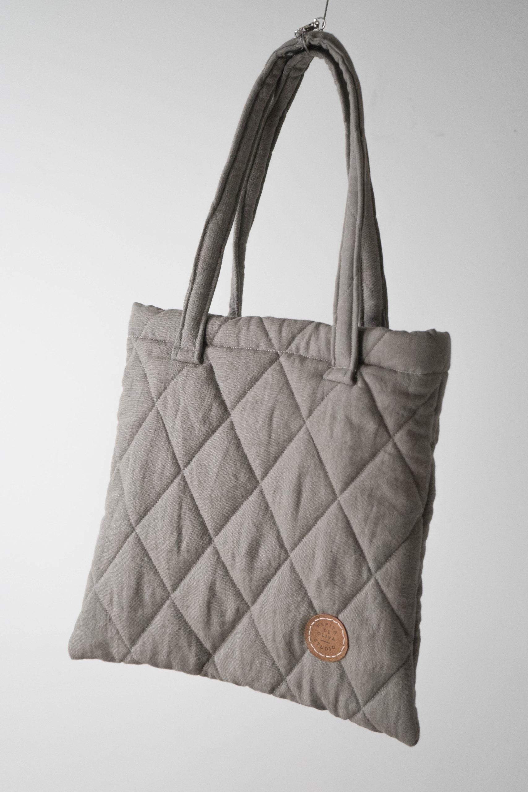 bolsa de tela hecha a mano guata de calidad