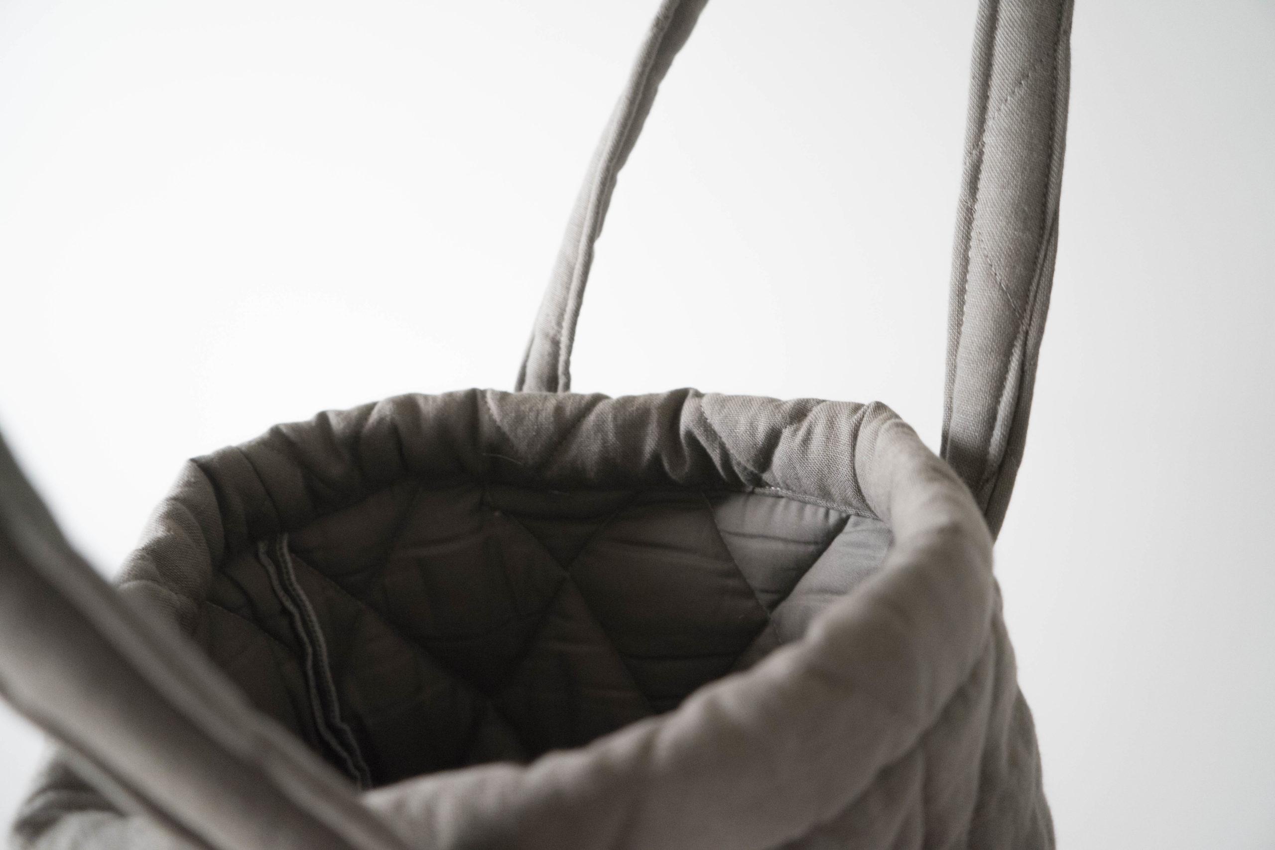 bolsa pepita de tela diseño