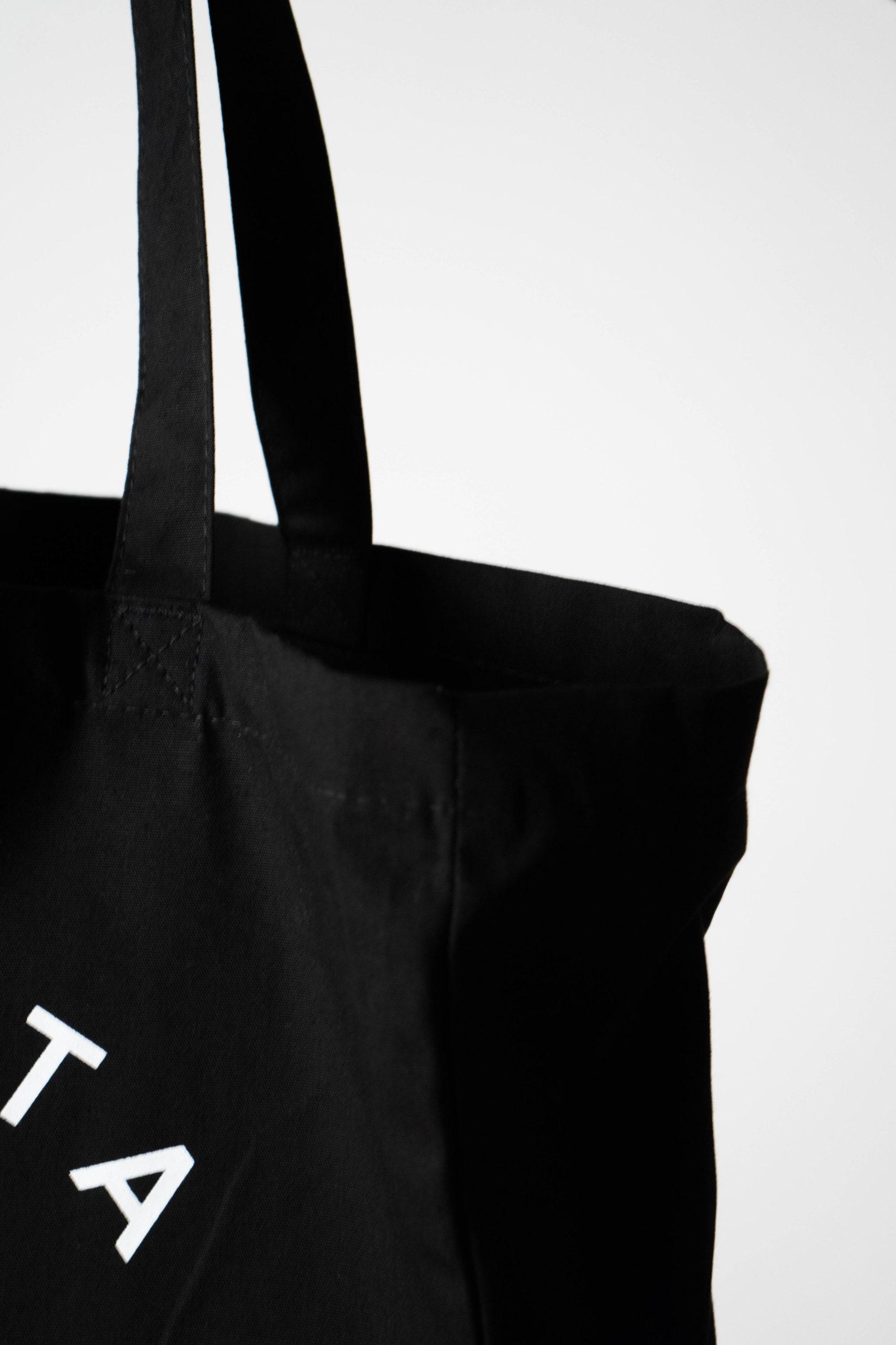 detalle de calidad bolsa de algodón de diseño calidad