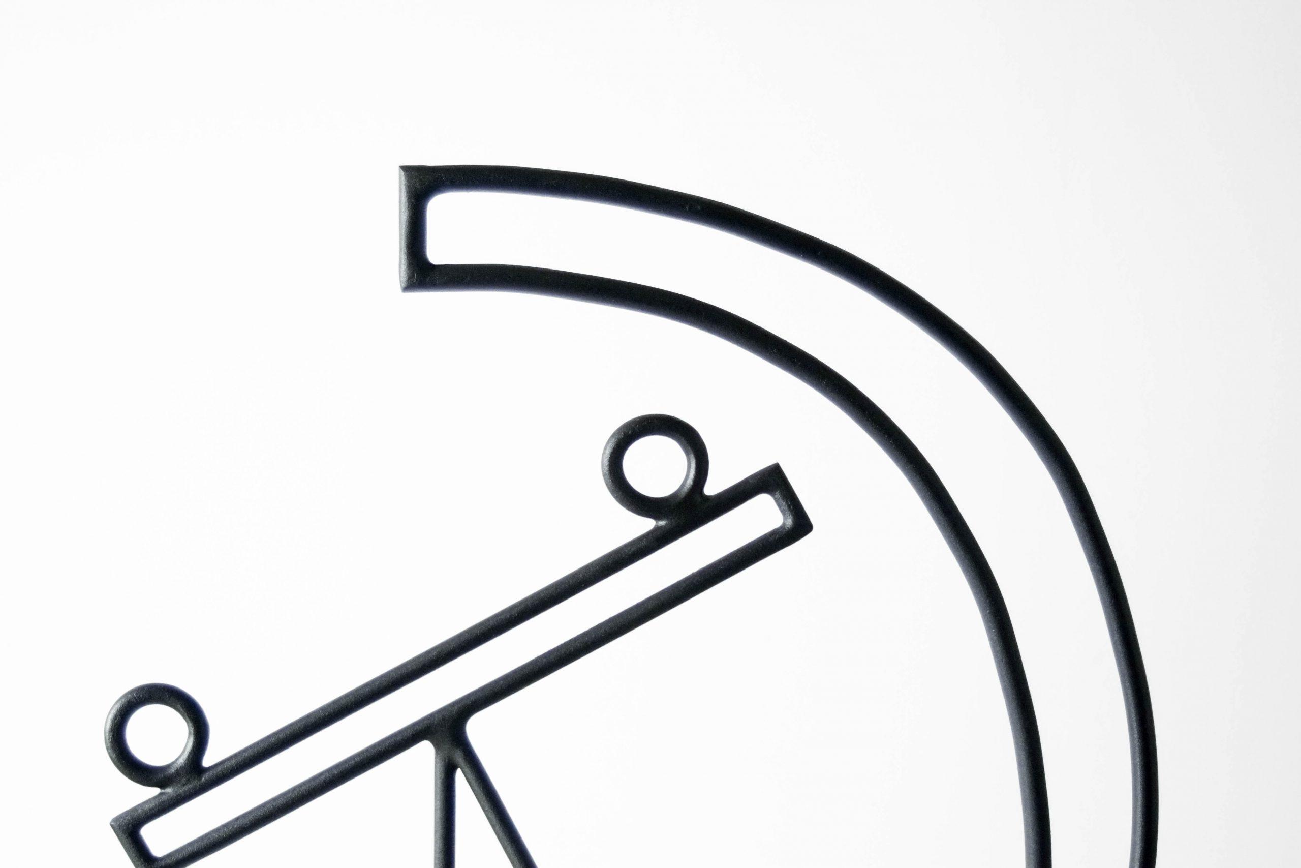 escultura hierro acero metal cara diego cabezas