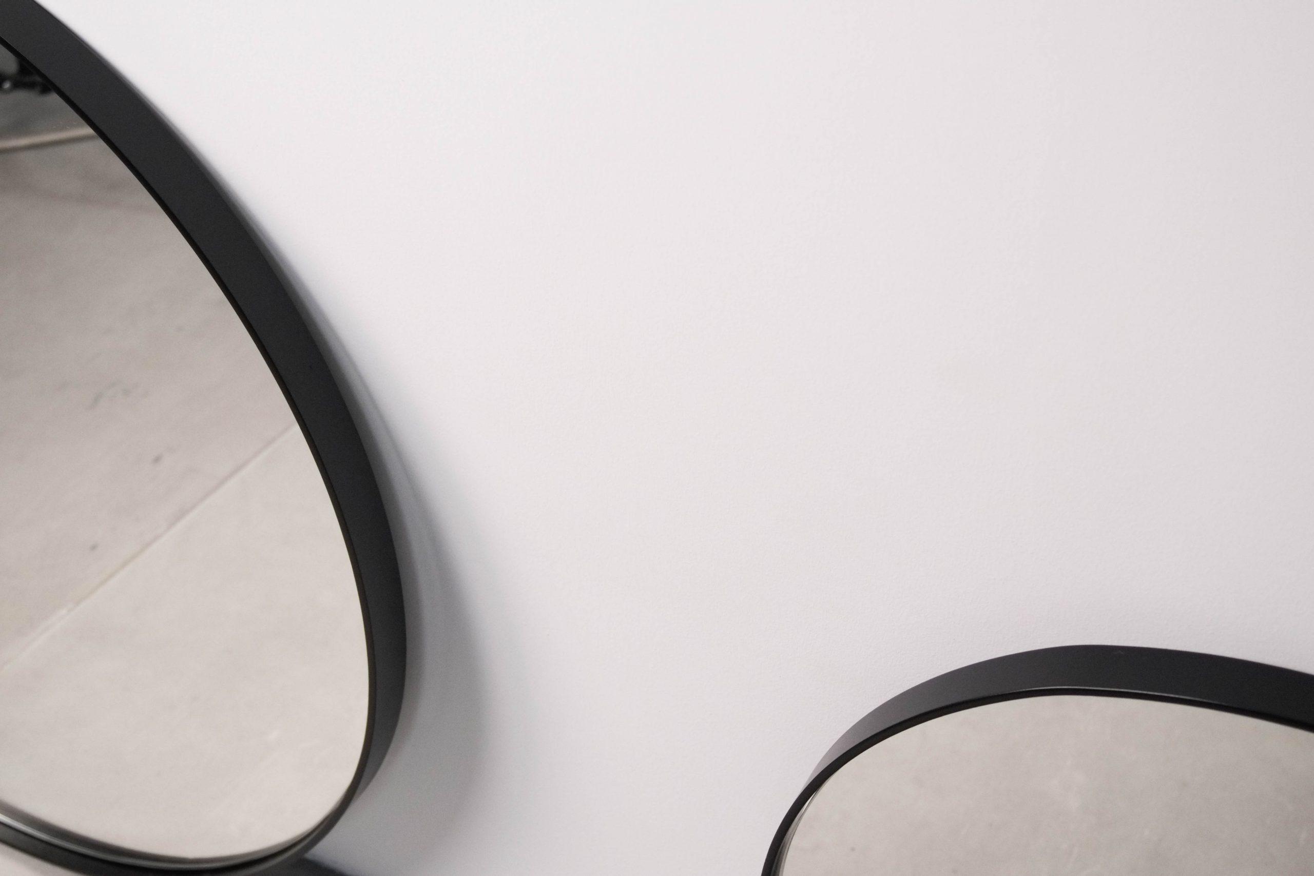 espejos pepita de metal y cristal espejo a medida