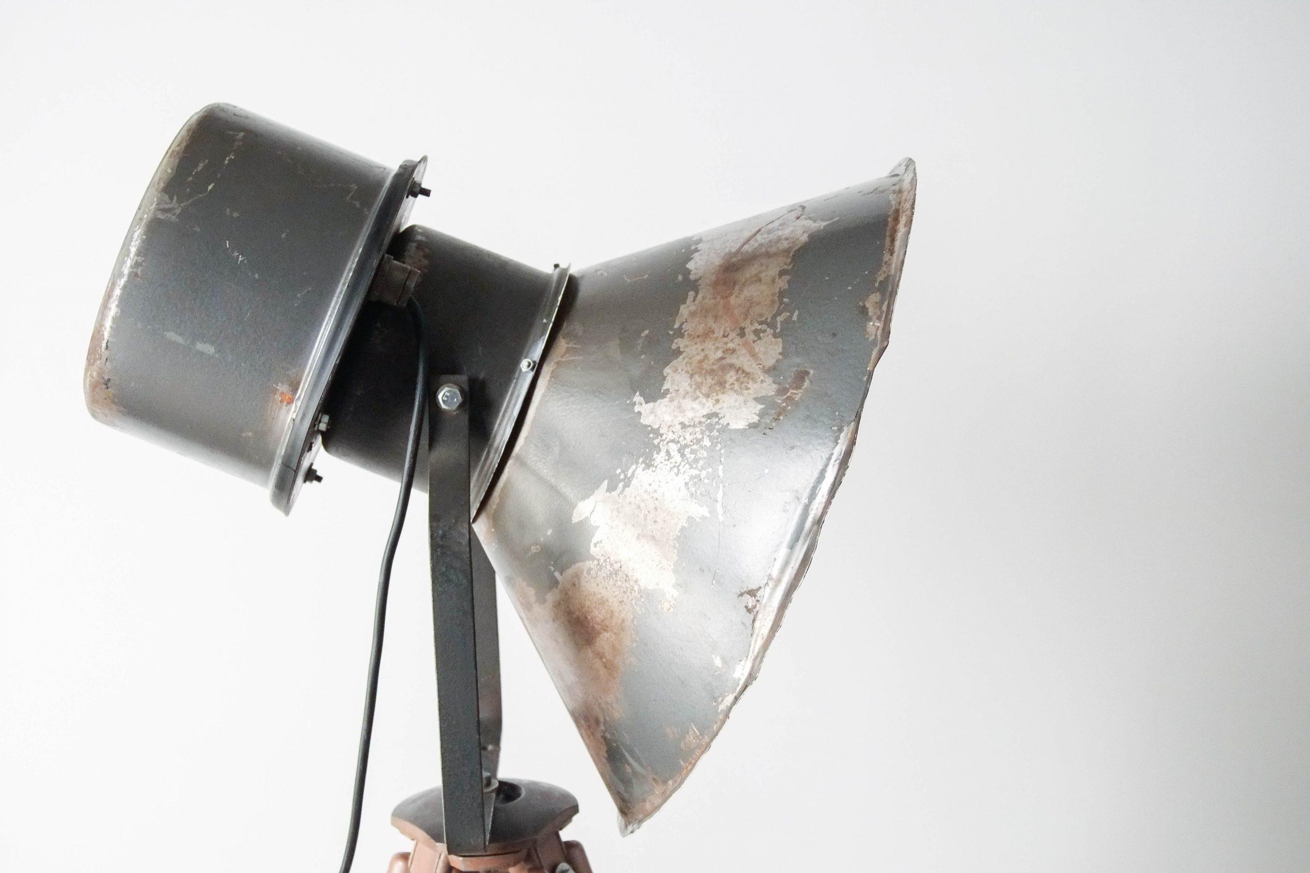 lampara de pie lampara foco industrial