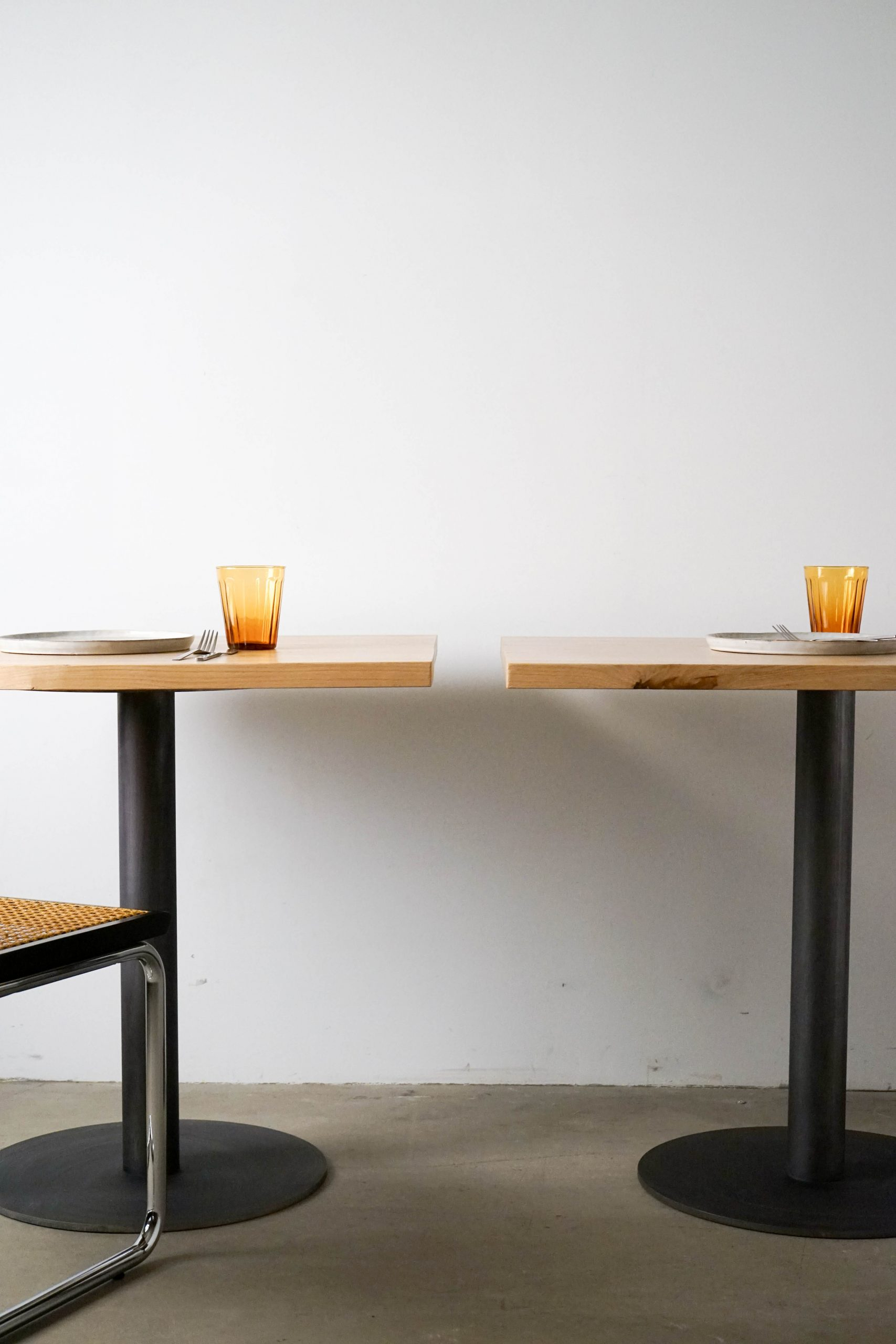 mesa de diseño hecha a mano