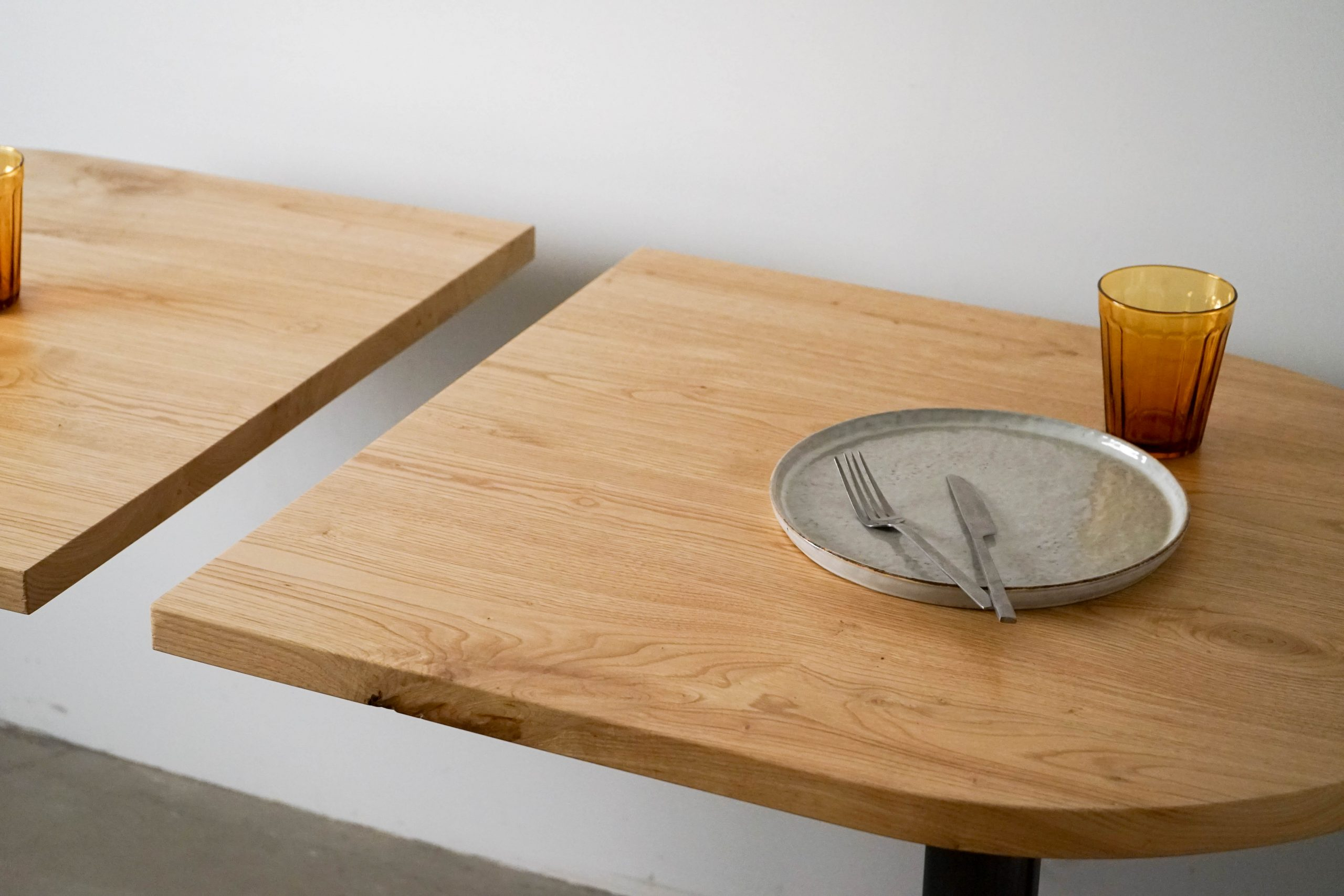 mesa doble hosteleria