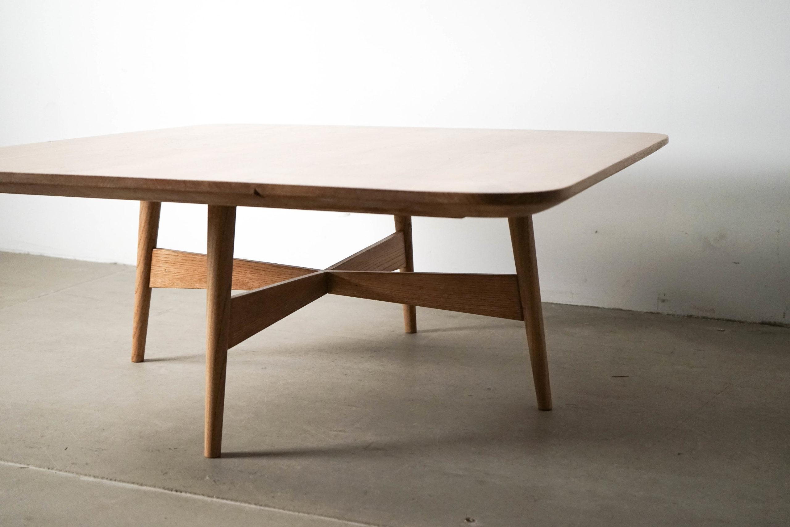 mesa pepita hecha a mano