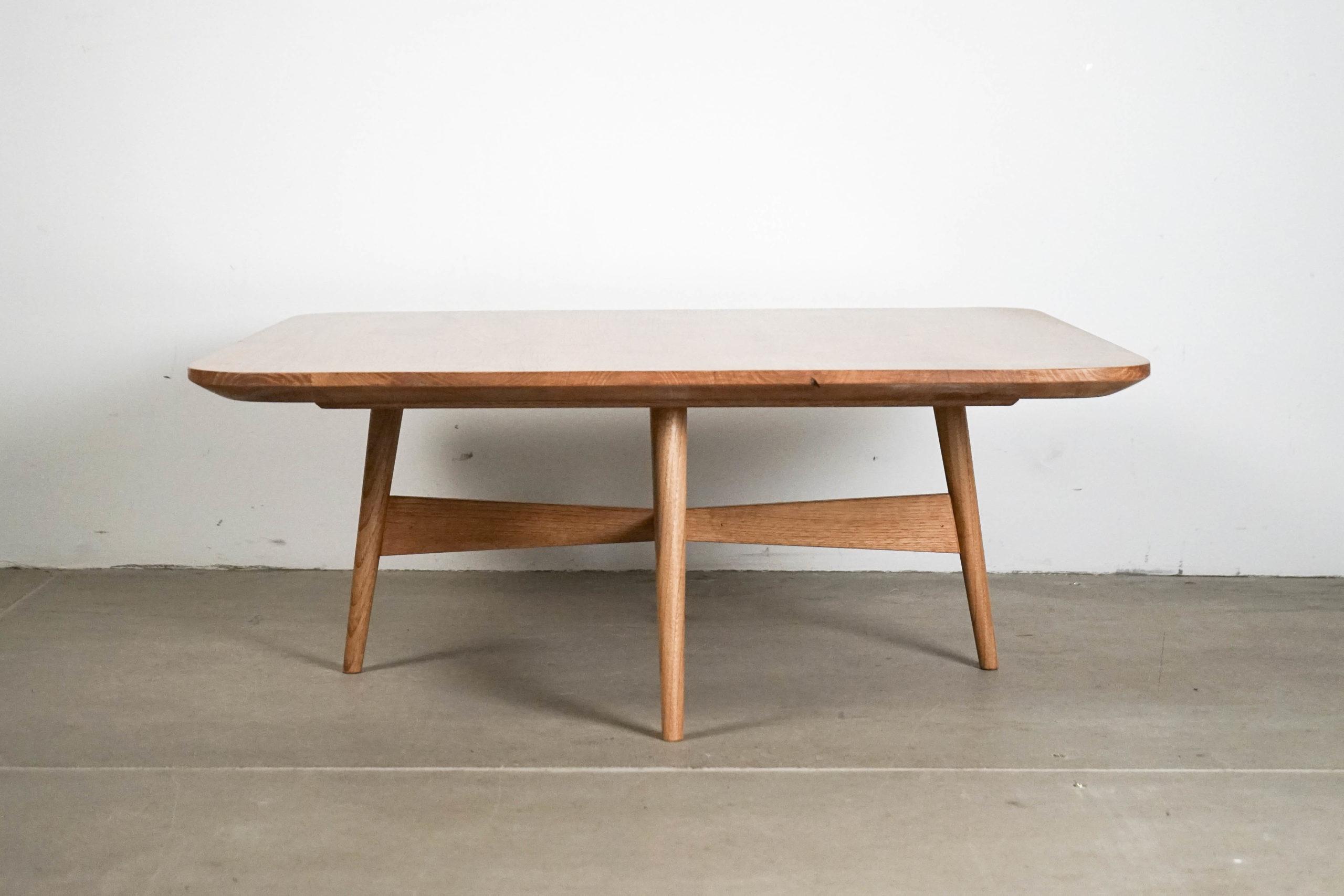 mesa de diseño de calidad hecha a mano fabricada ercol cafe centro sofa salon