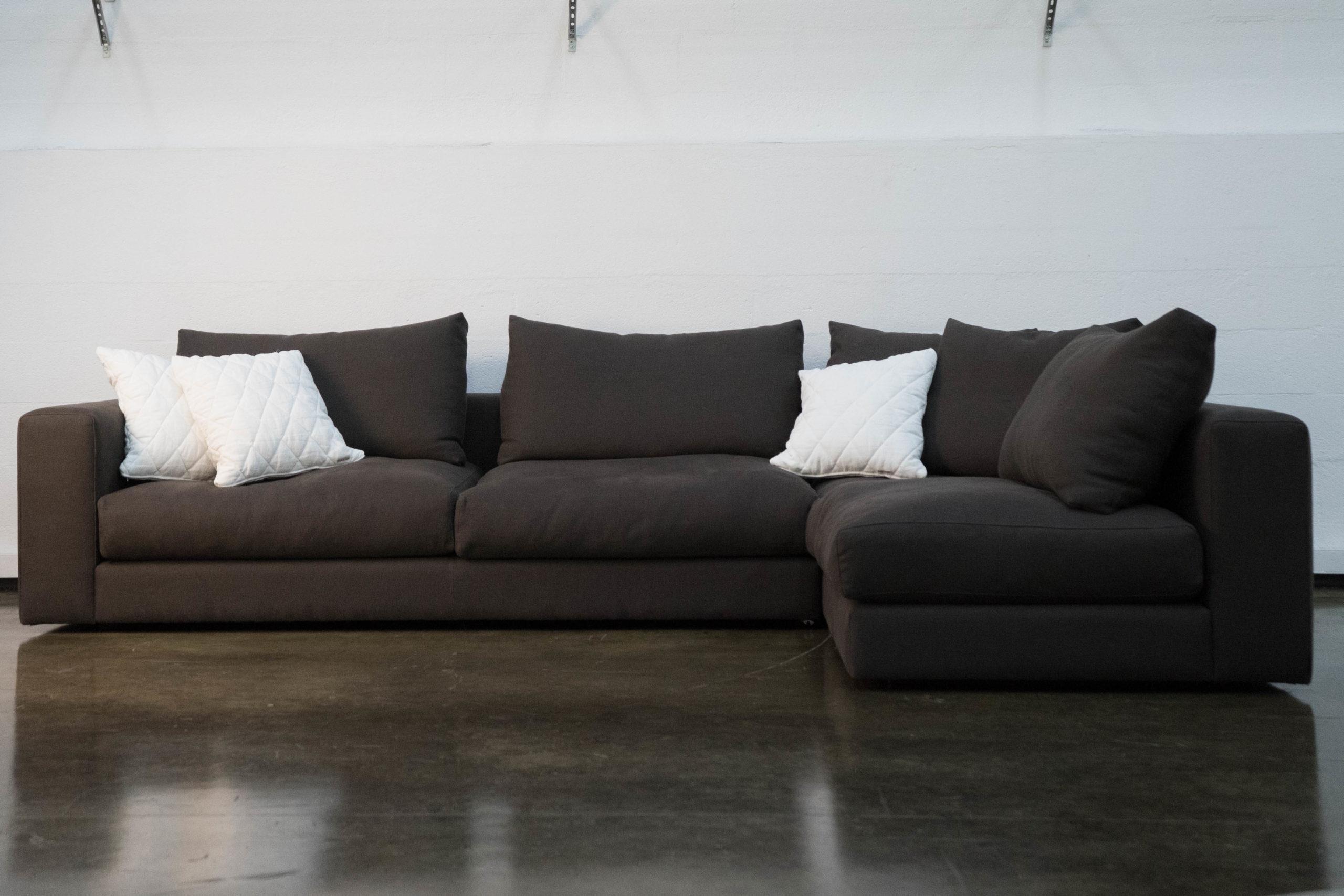 sofa a medida a mano calidad marron hecho a mano