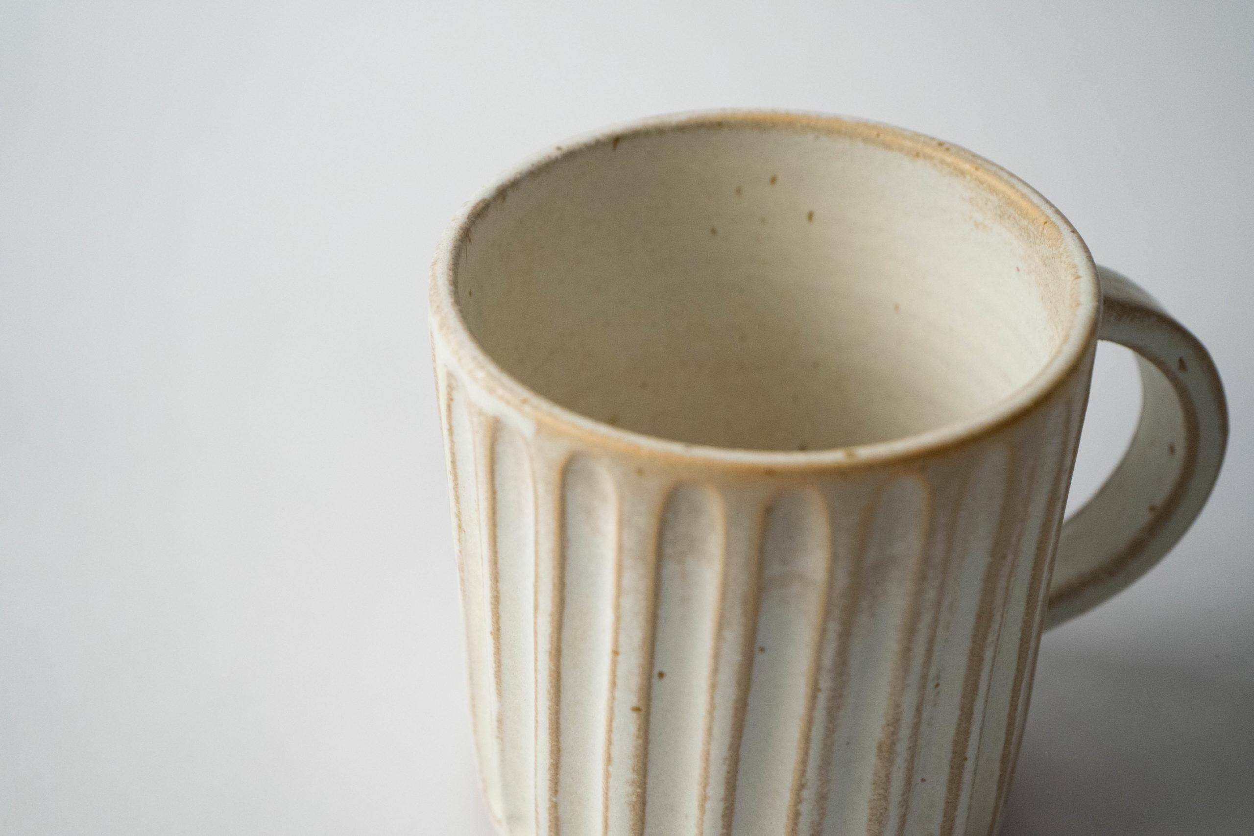detalle ceramica de calidad taza juego