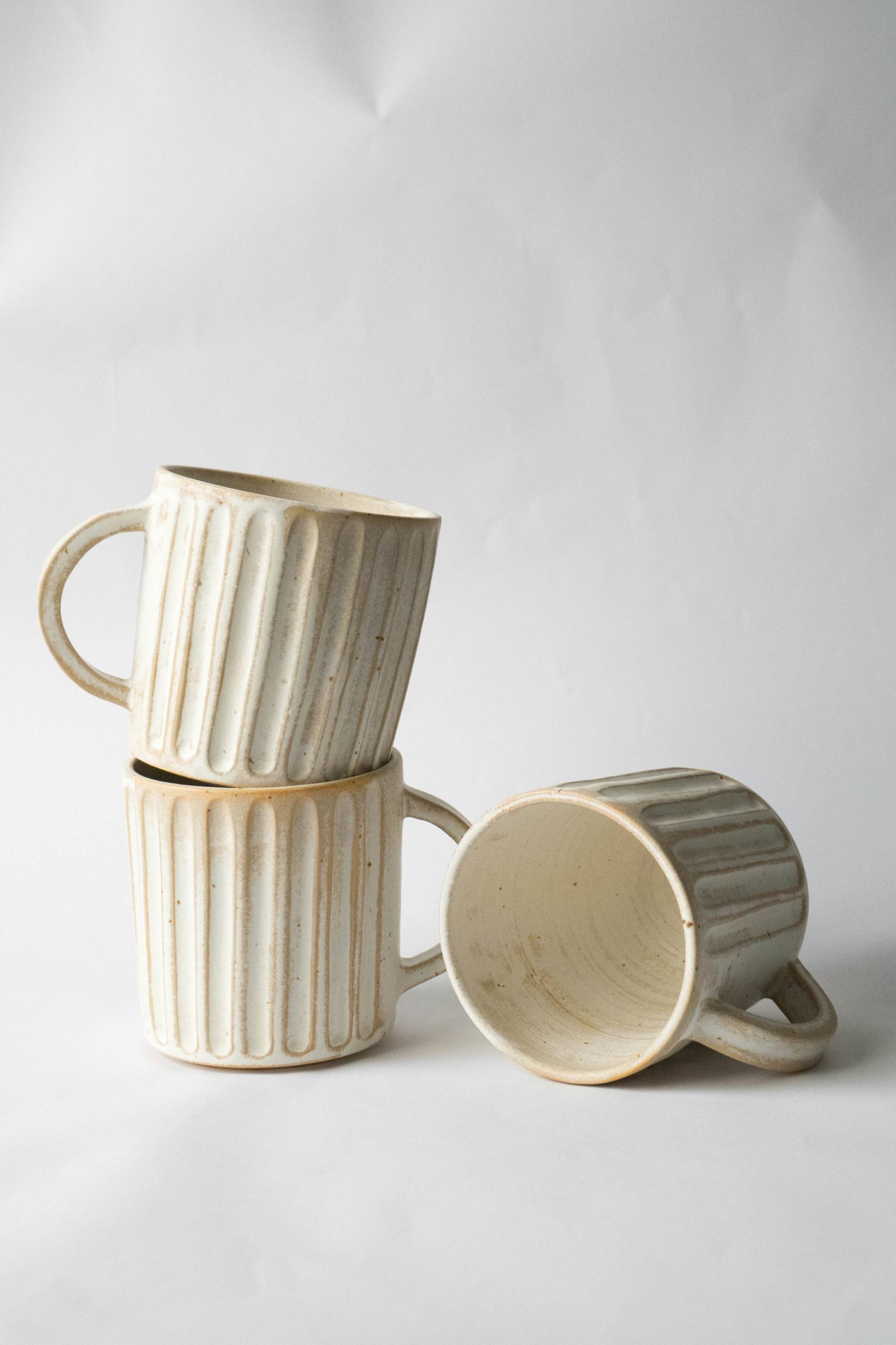 juego de tazas de calidad ceramicas hechas a mano ceramicas de calidad
