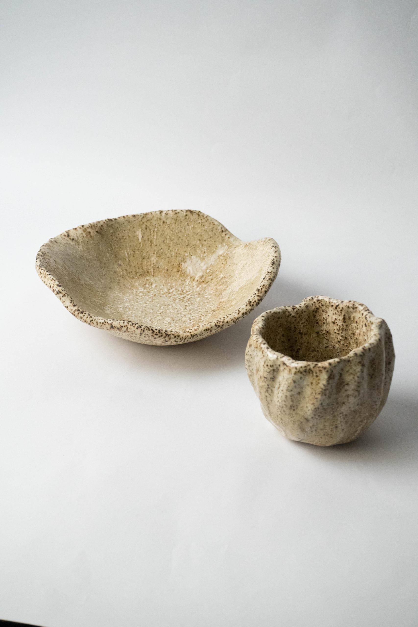 plato vaso bol de diseño hecho a mano irregular calidad