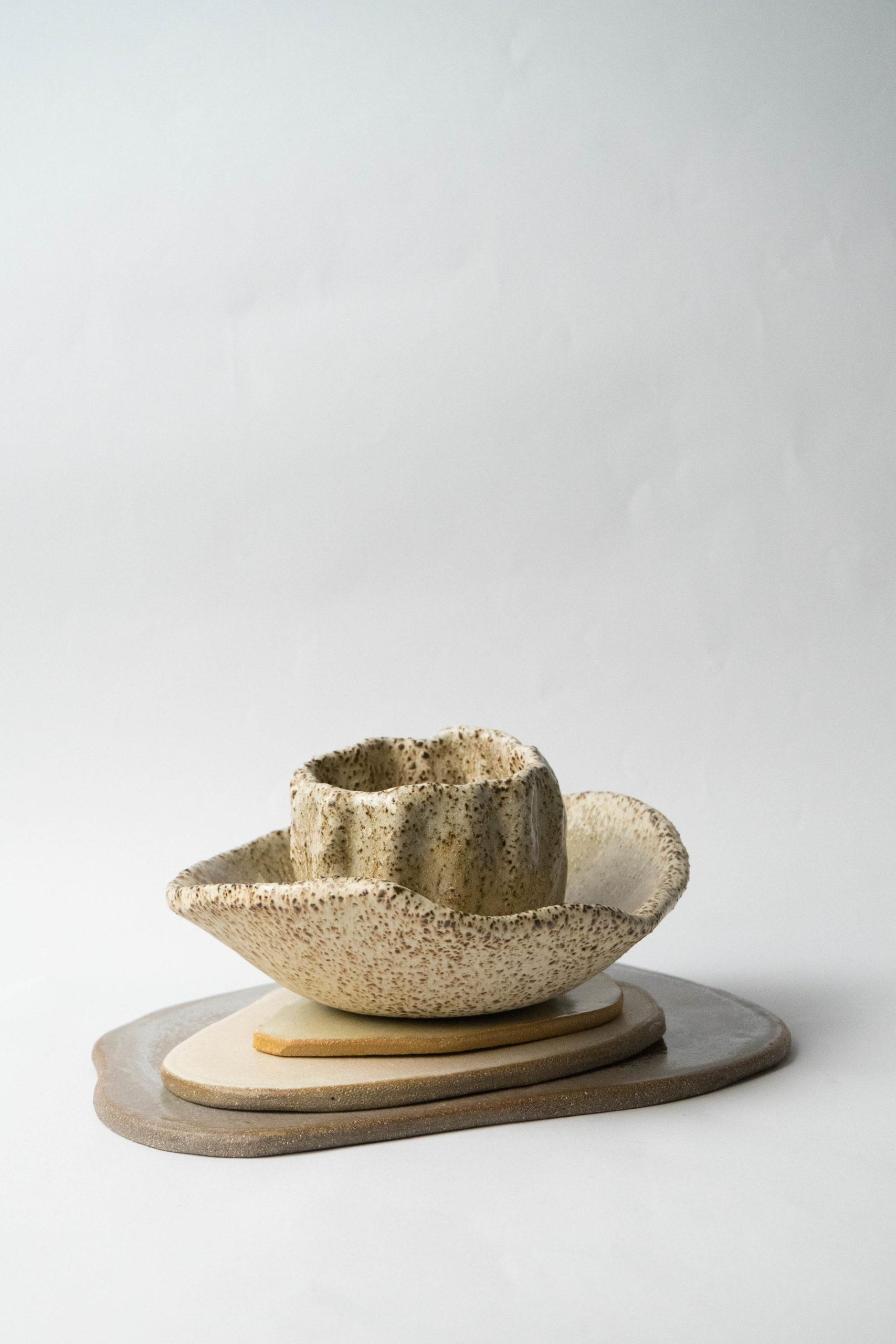 set ceramico artesanal fabricado a mano