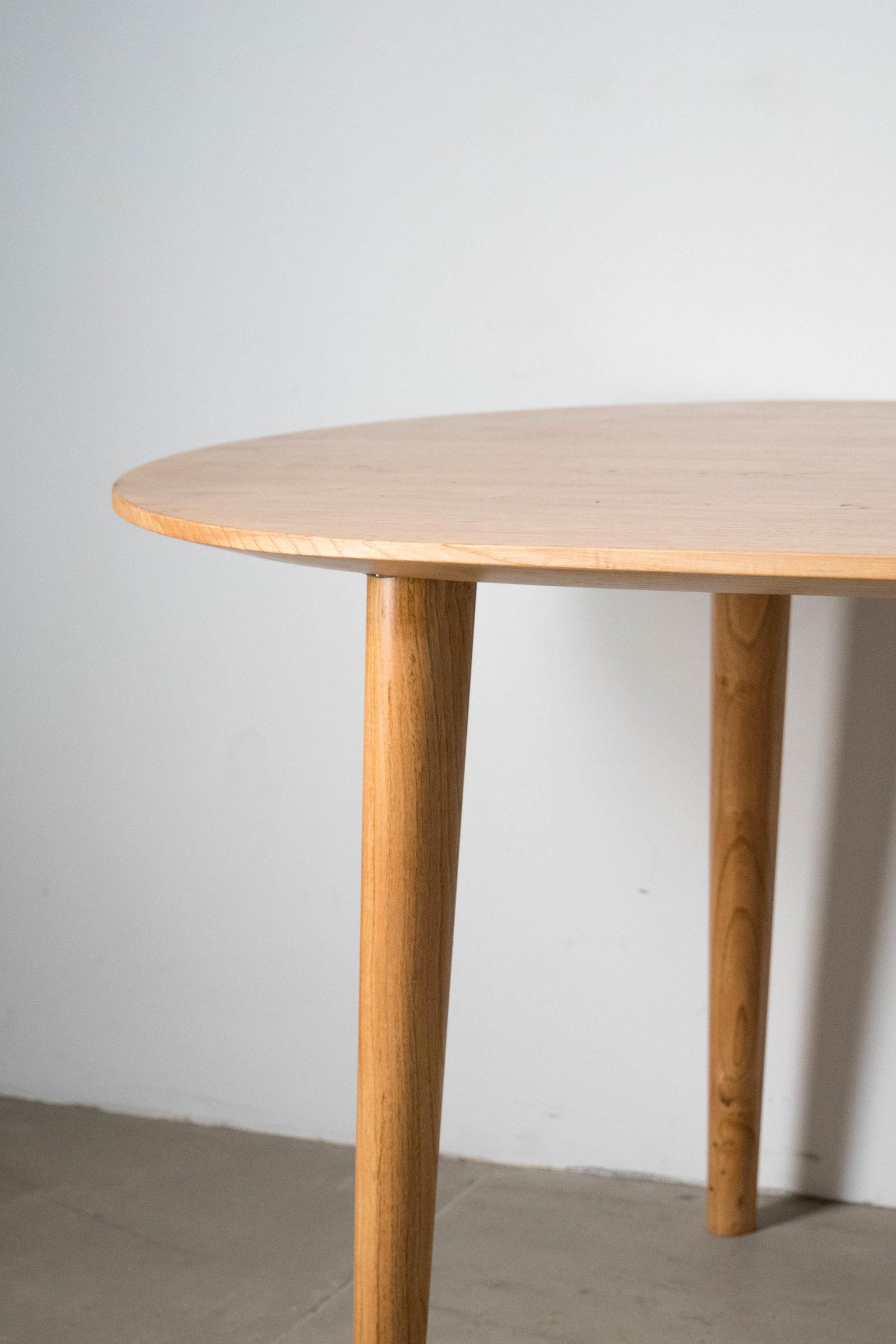 detalle de mesa de calidad de diseño