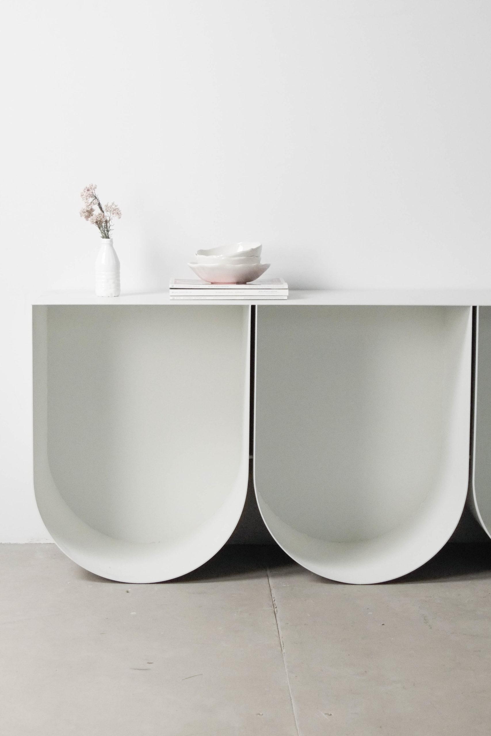 mueble de diseño pinterest fabricado a mano diseño a medida blanco entrada