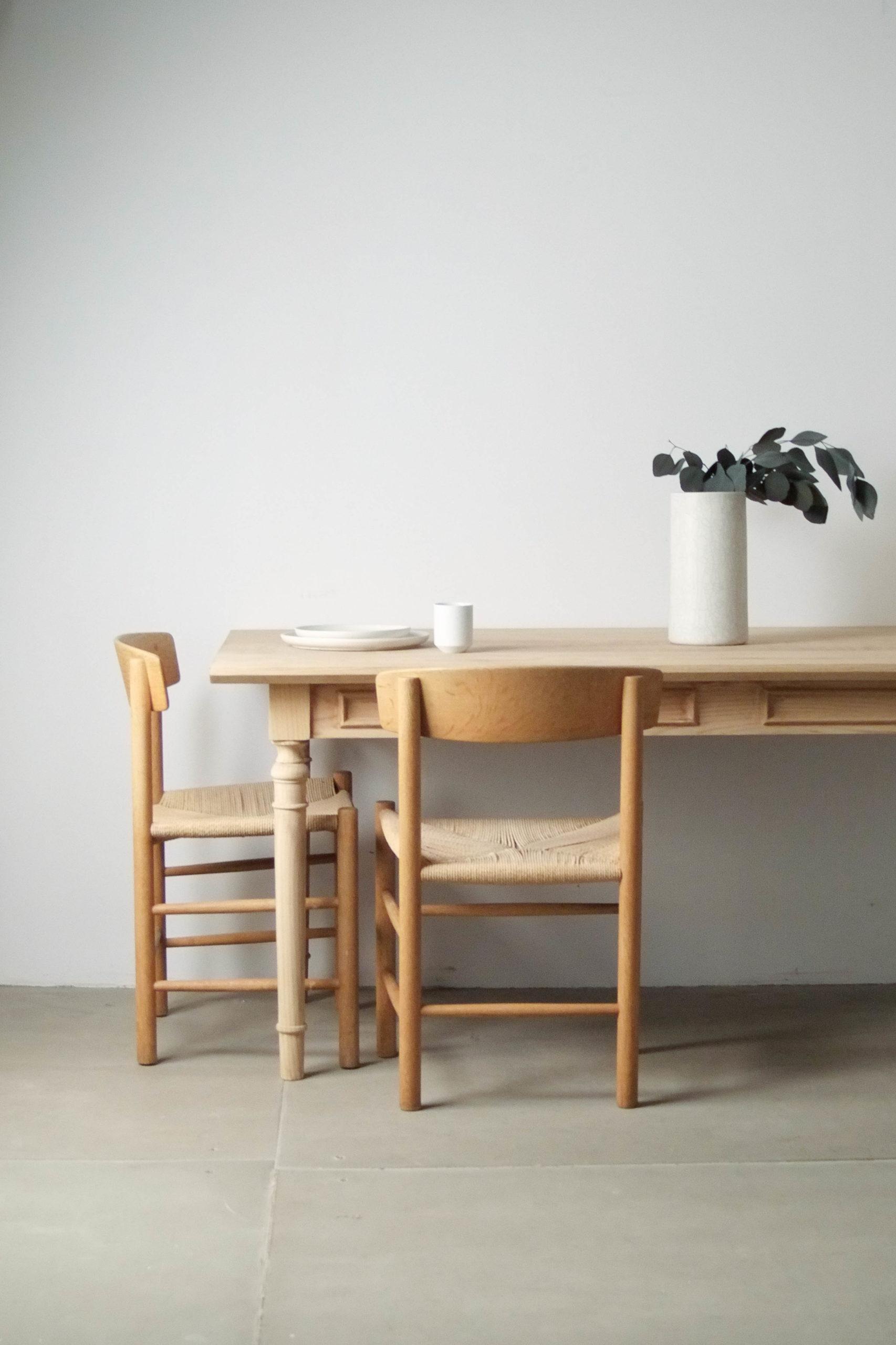 mesa retro vintage de diseño de calidad fabricada a mano