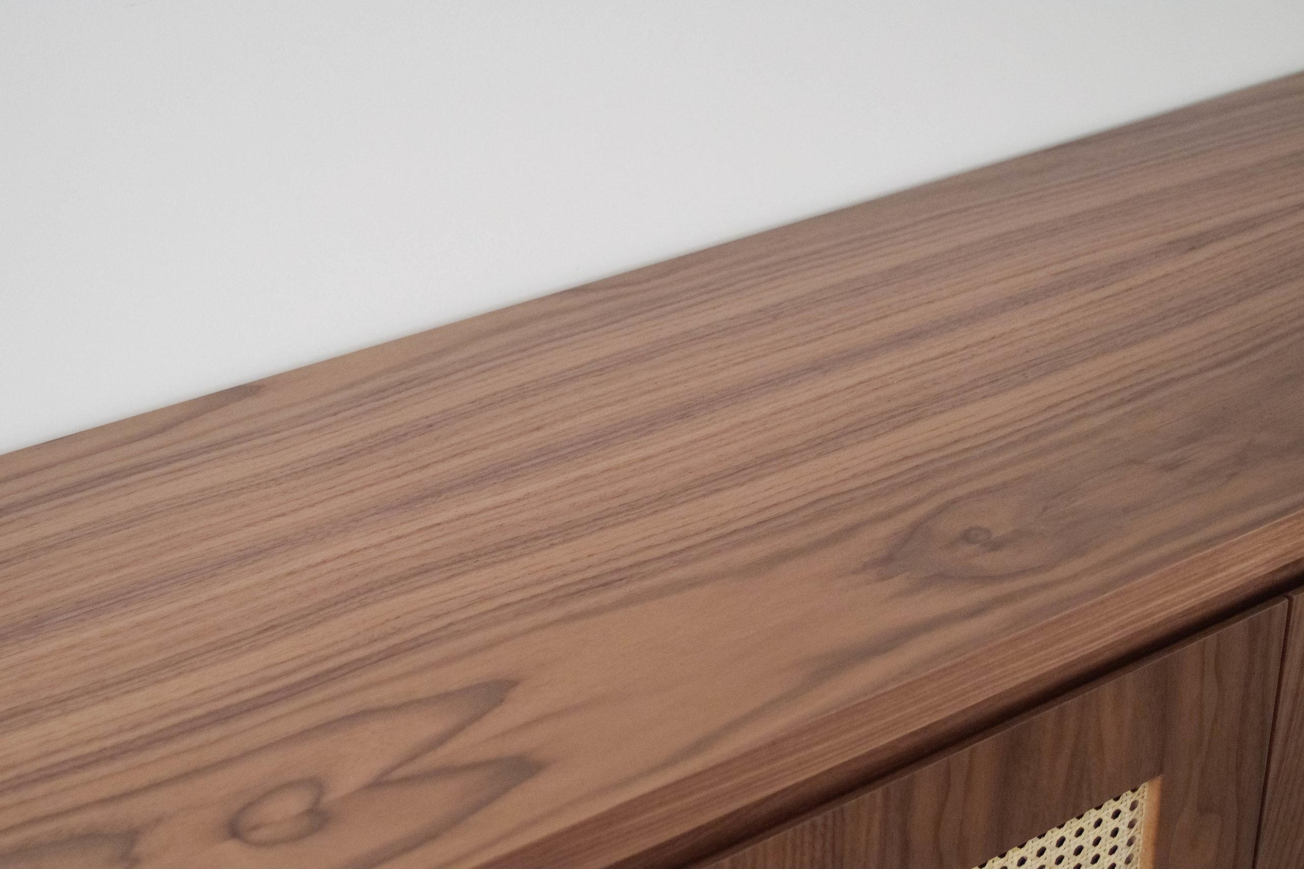 parte superior mueble diseño calidad madera