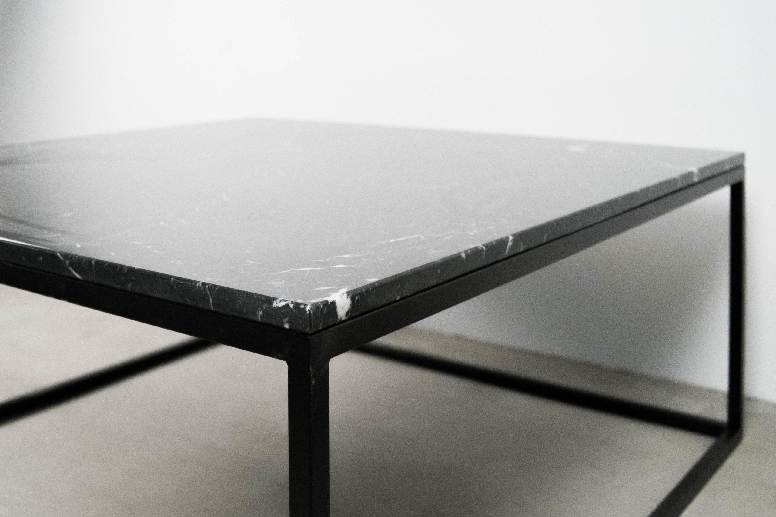 marmol mesa original a medida bonita negra oscura