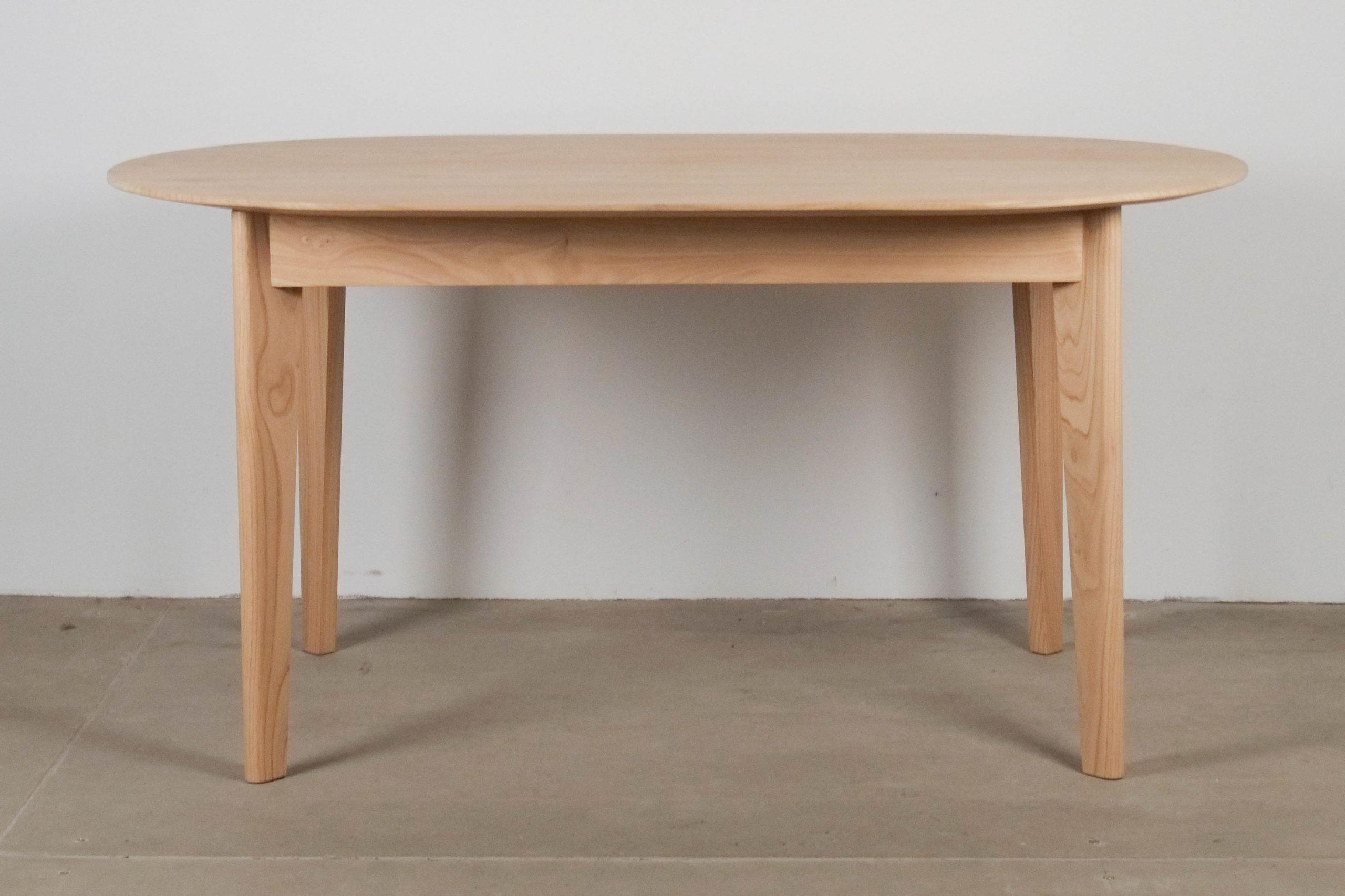 mesa de madera hecha a mano castaño diseño mesa de cocina