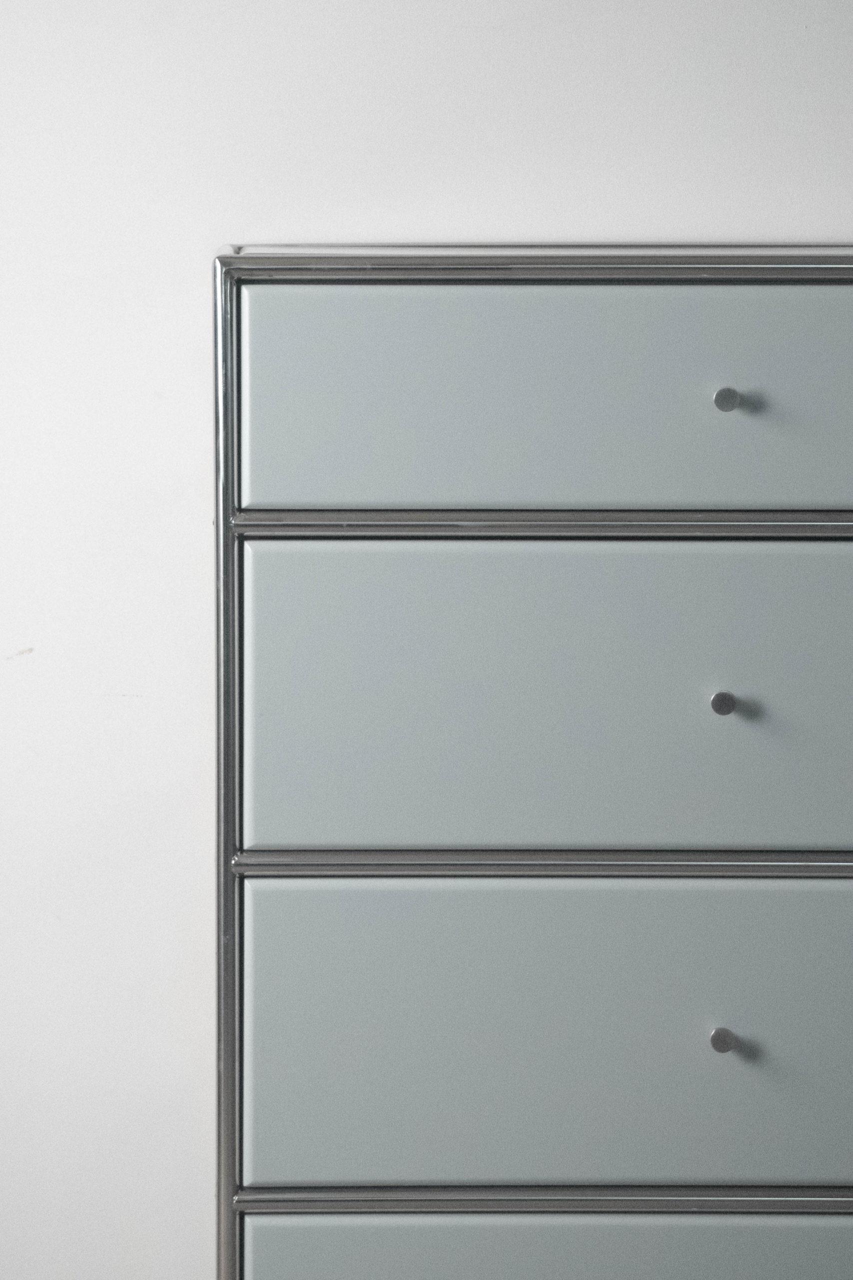 mueble gris industrial colores